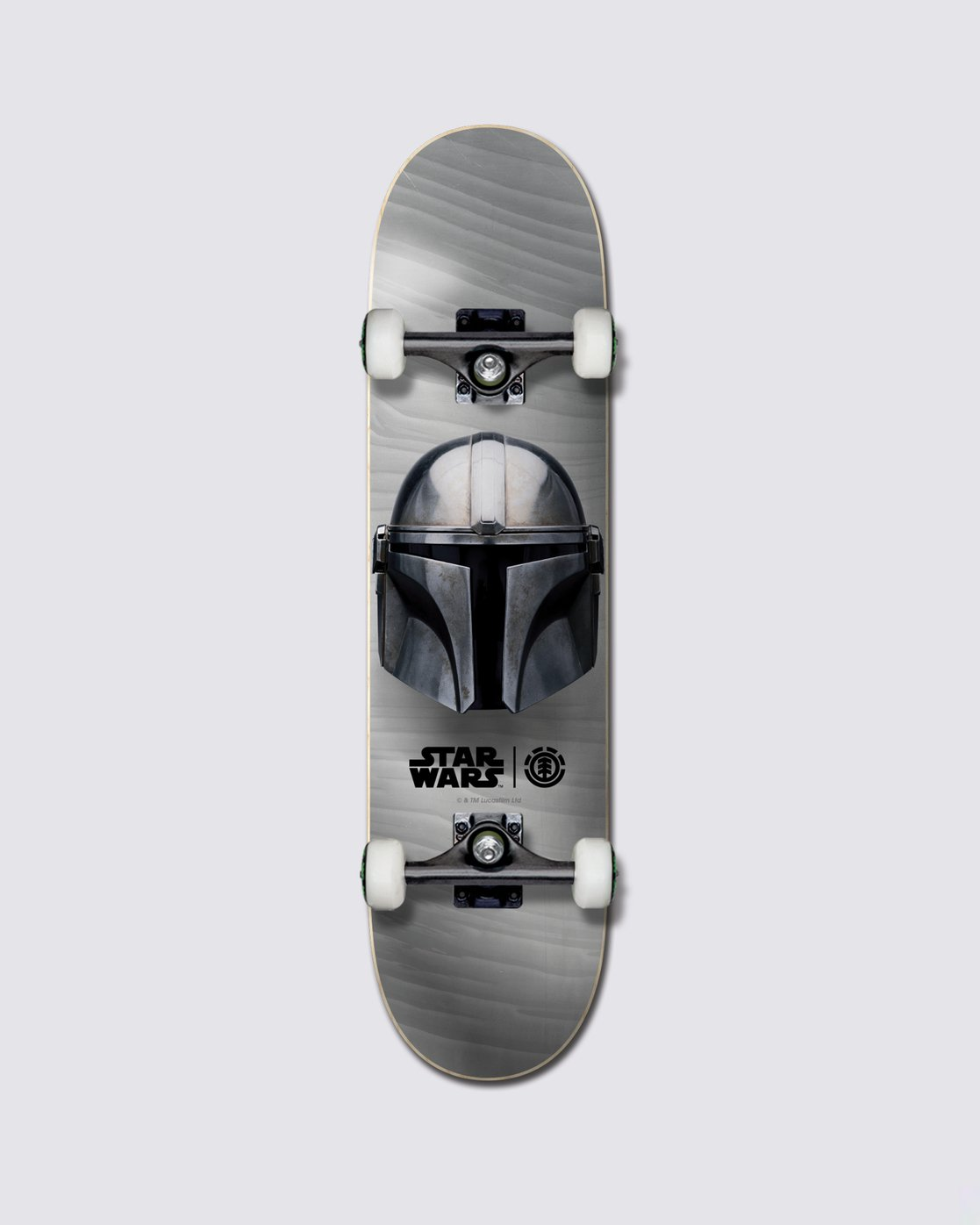 0 Star Wars™ Beskar Skateboard Complete  ALYXW00128 Element