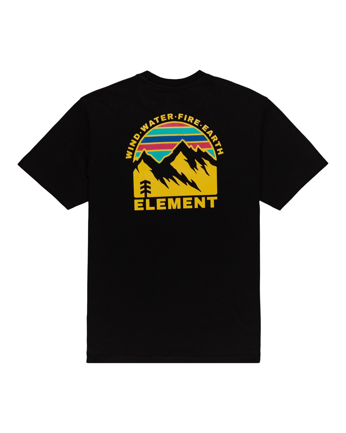 0 Foxwood T-Shirt Blue ALYZT00110 Element