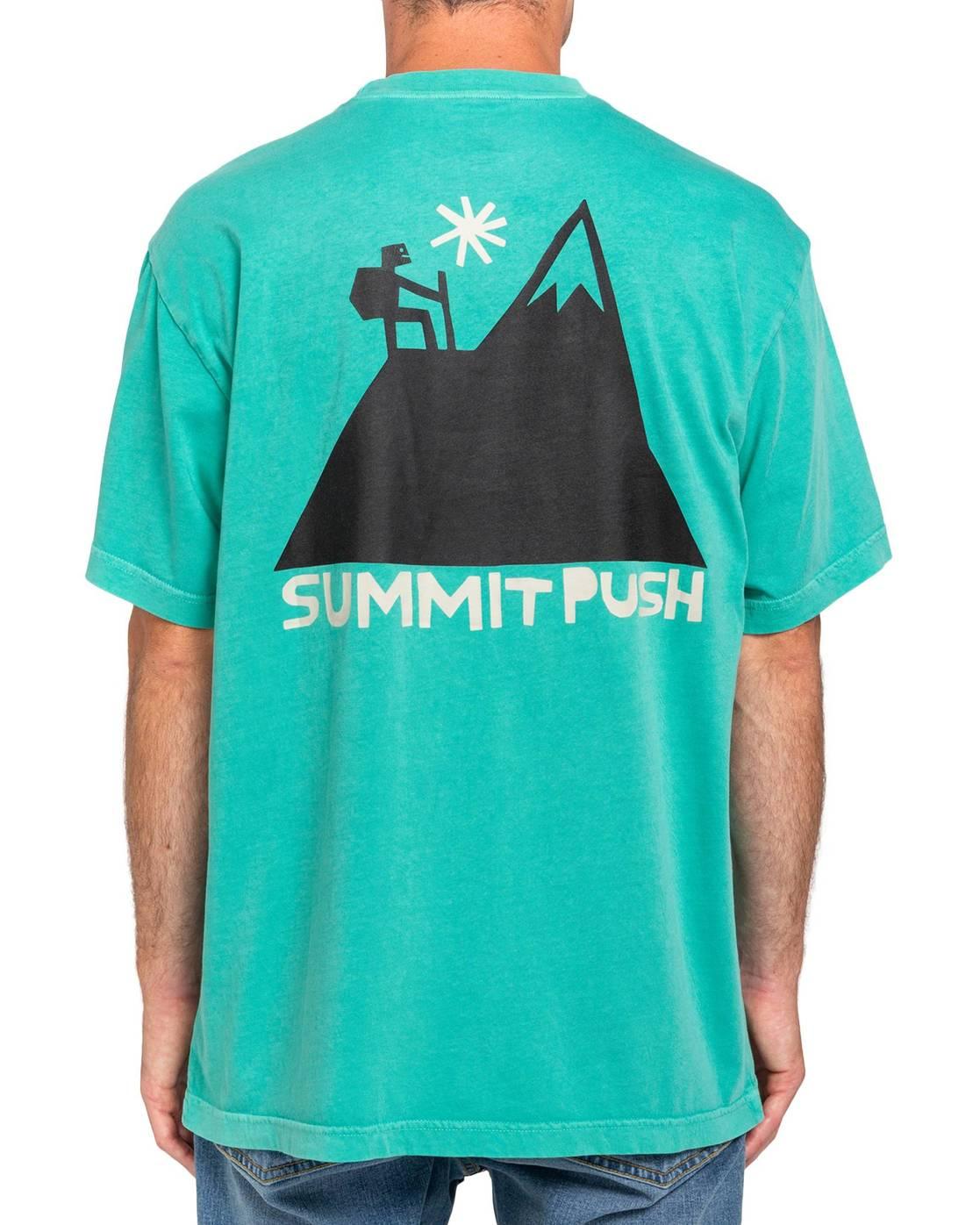 3 Summit T-Shirt Green ALYZT00132 Element