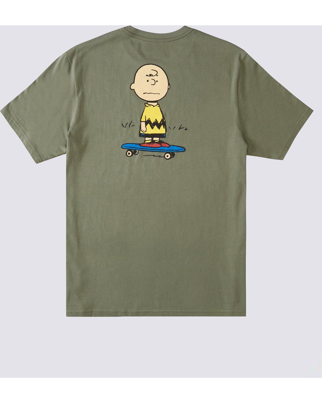 0 Peanuts x Element Kruzer T-Shirt Beige ALYZT00162 Element