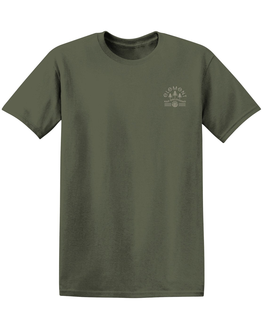 2 Wyntree Pigment T-Shirt Green ALYZT00167 Element