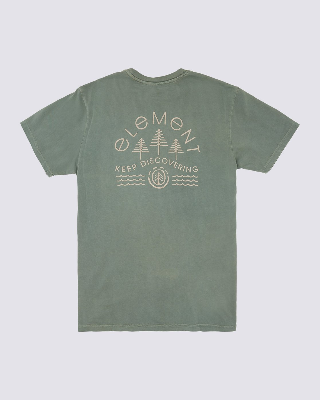 1 Wyntree Pigment T-Shirt Green ALYZT00167 Element
