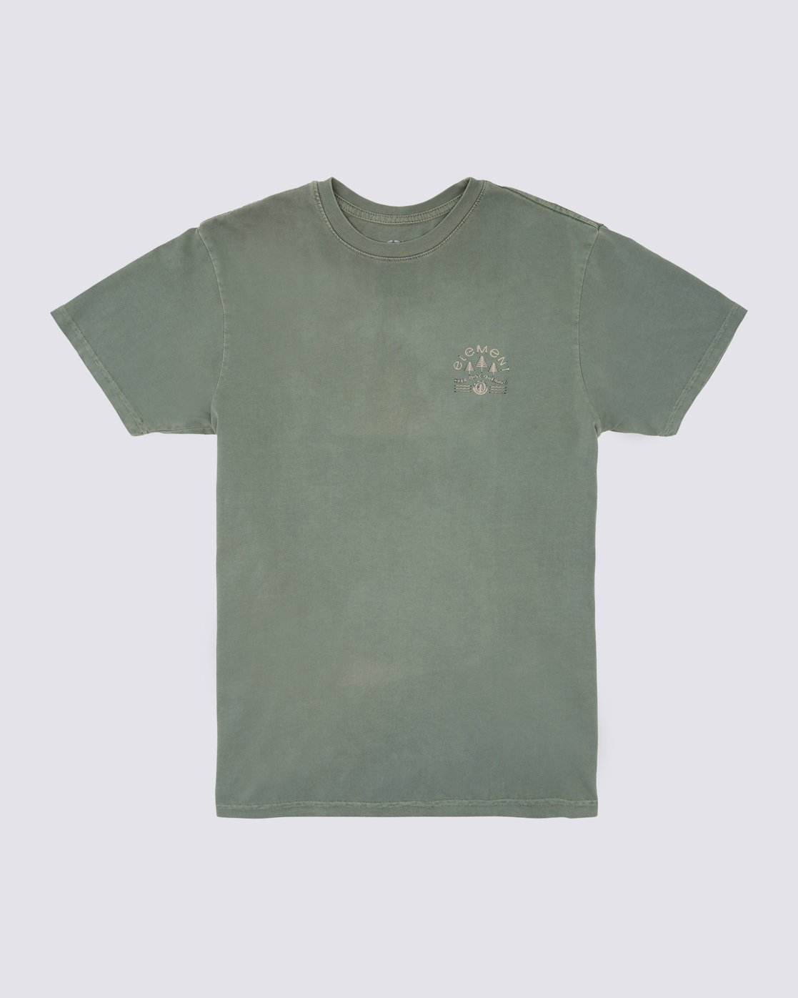 0 Wyntree Pigment T-Shirt Green ALYZT00167 Element