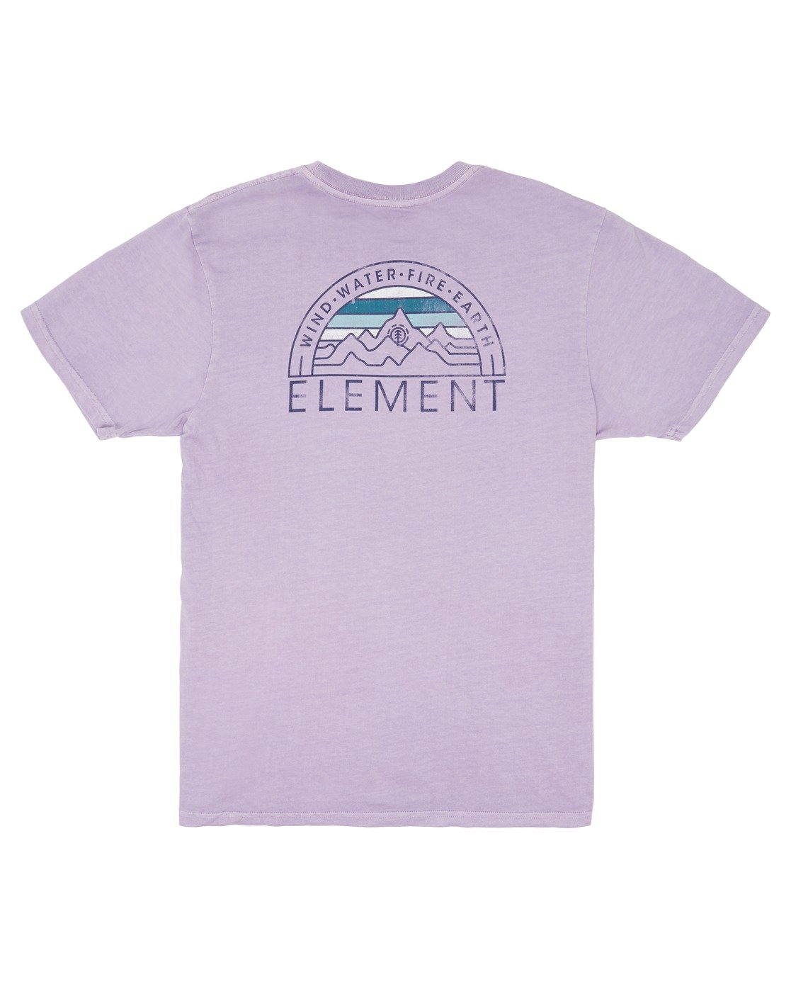 3 Odyssey Pigment T-Shirt Purple ALYZT00170 Element