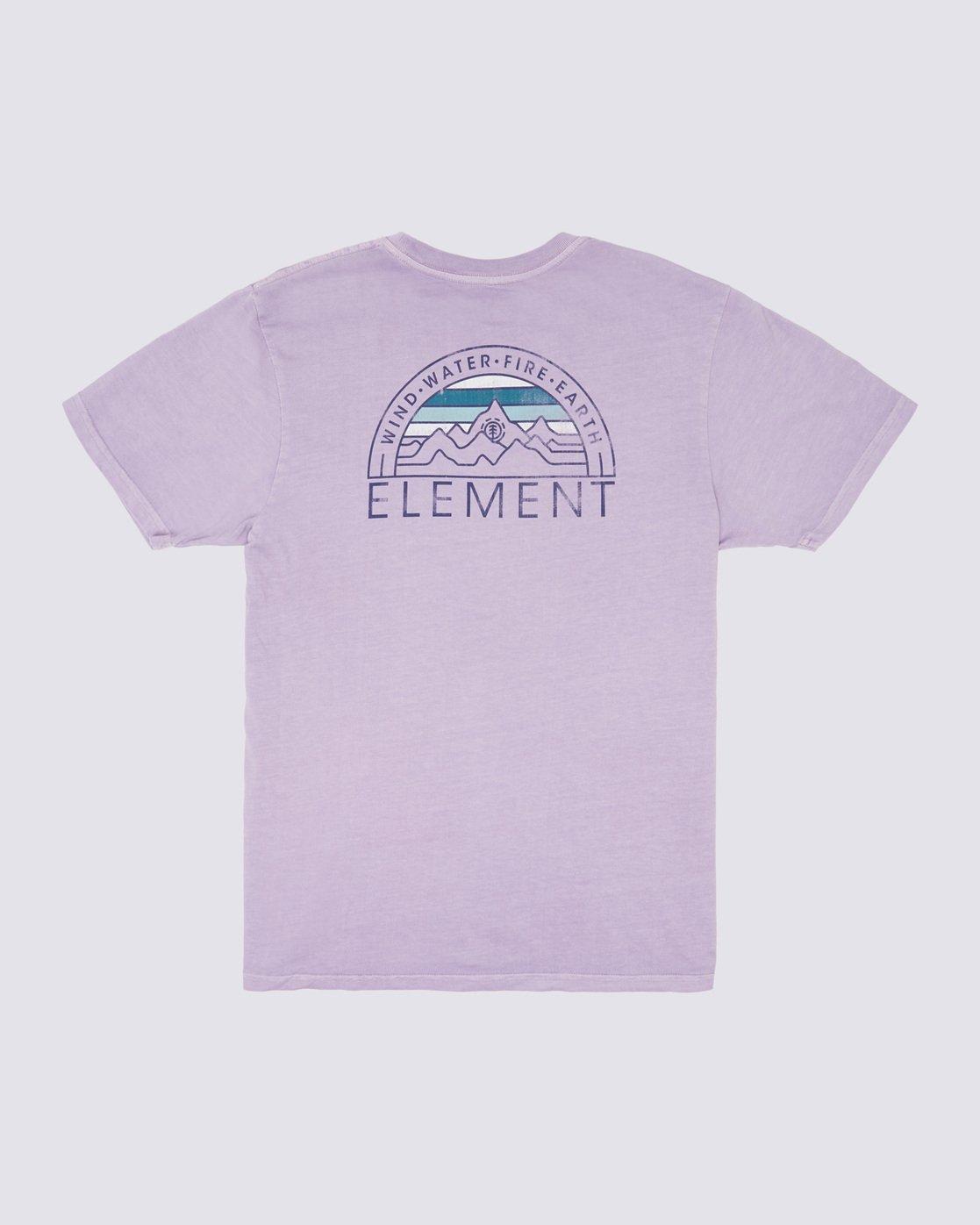 1 Odyssey Pigment T-Shirt Purple ALYZT00170 Element
