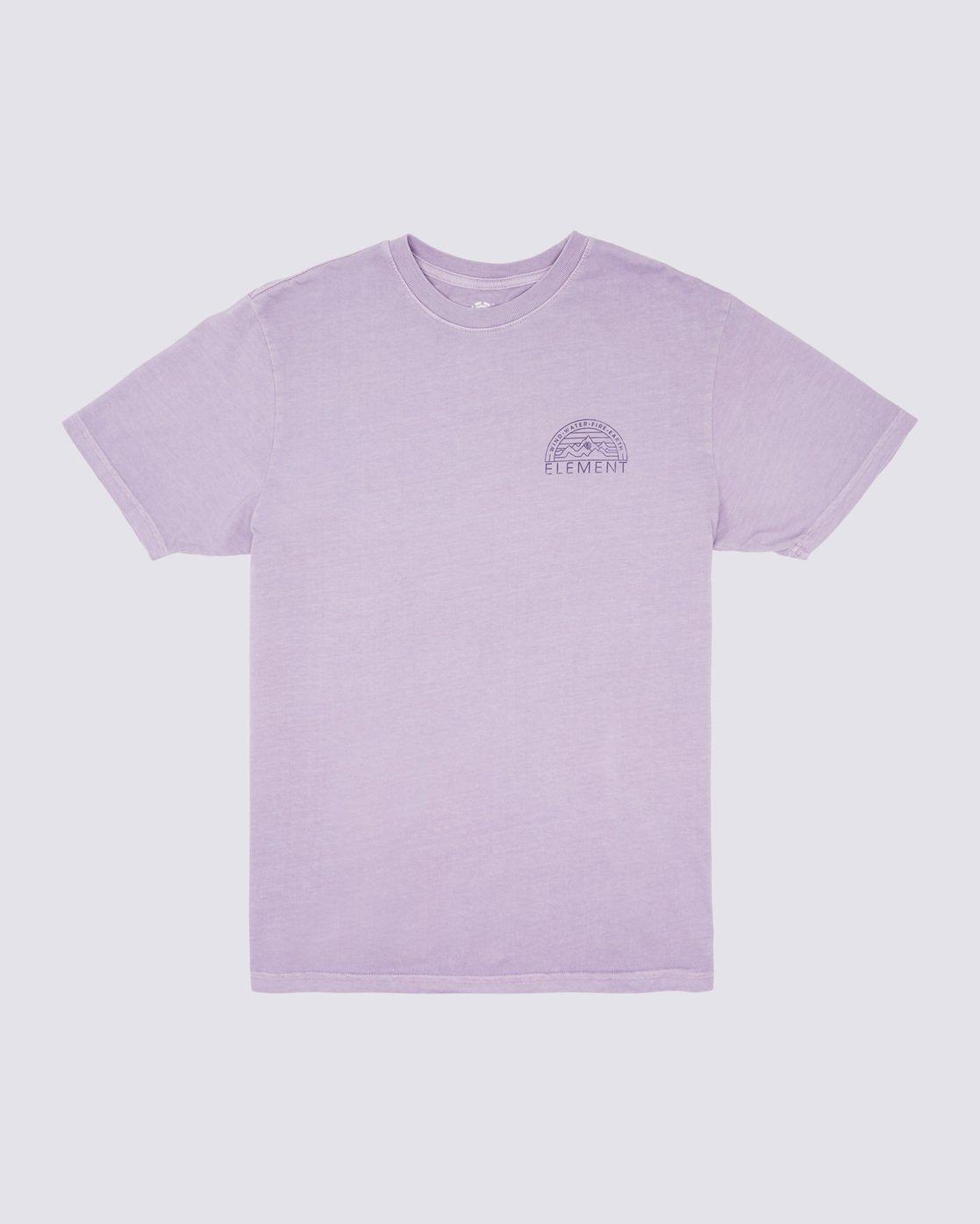 0 Odyssey Pigment T-Shirt Purple ALYZT00170 Element