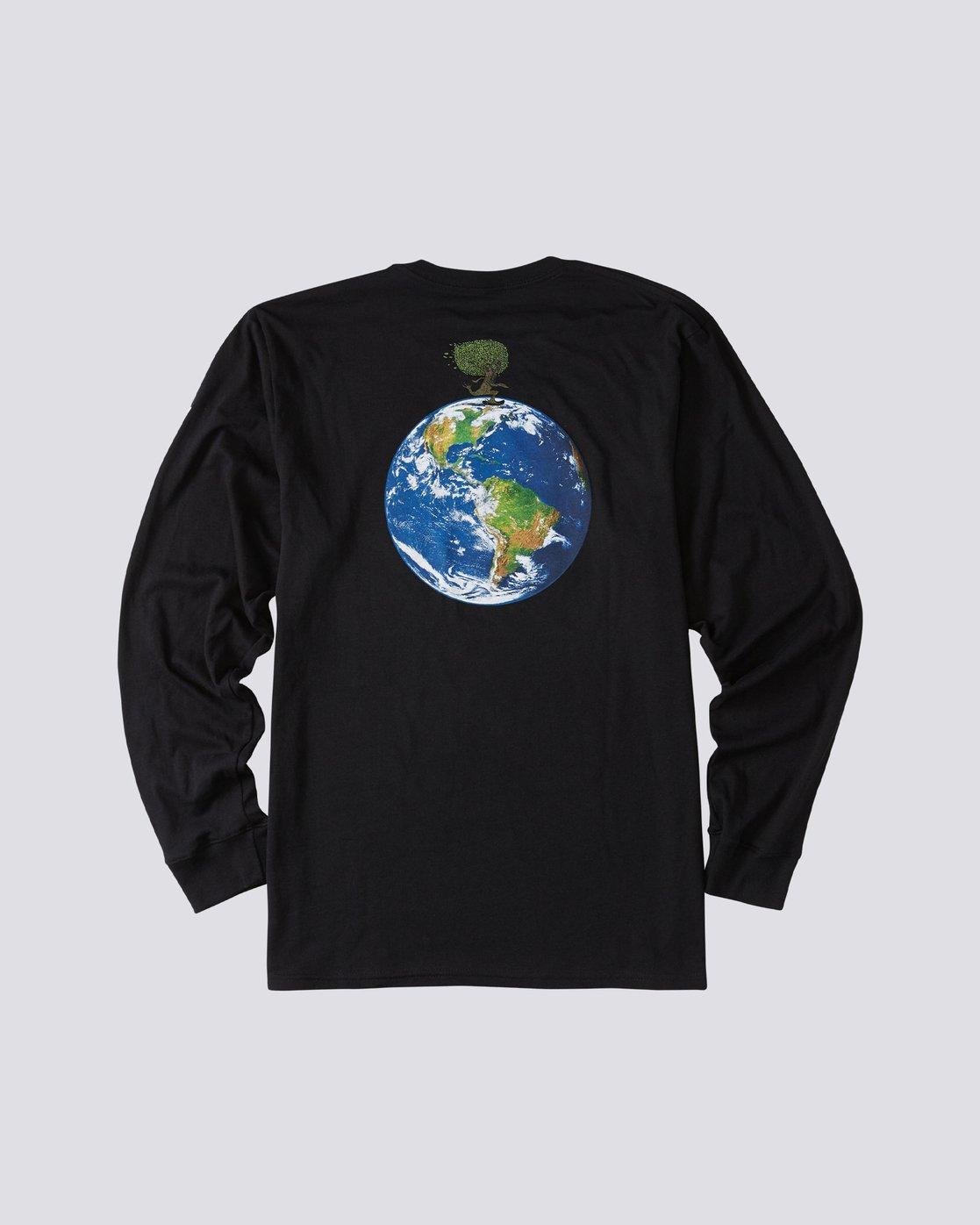 1 Mottilaa Planet Long Sleeve T-Shirt Blue ALYZT00186 Element