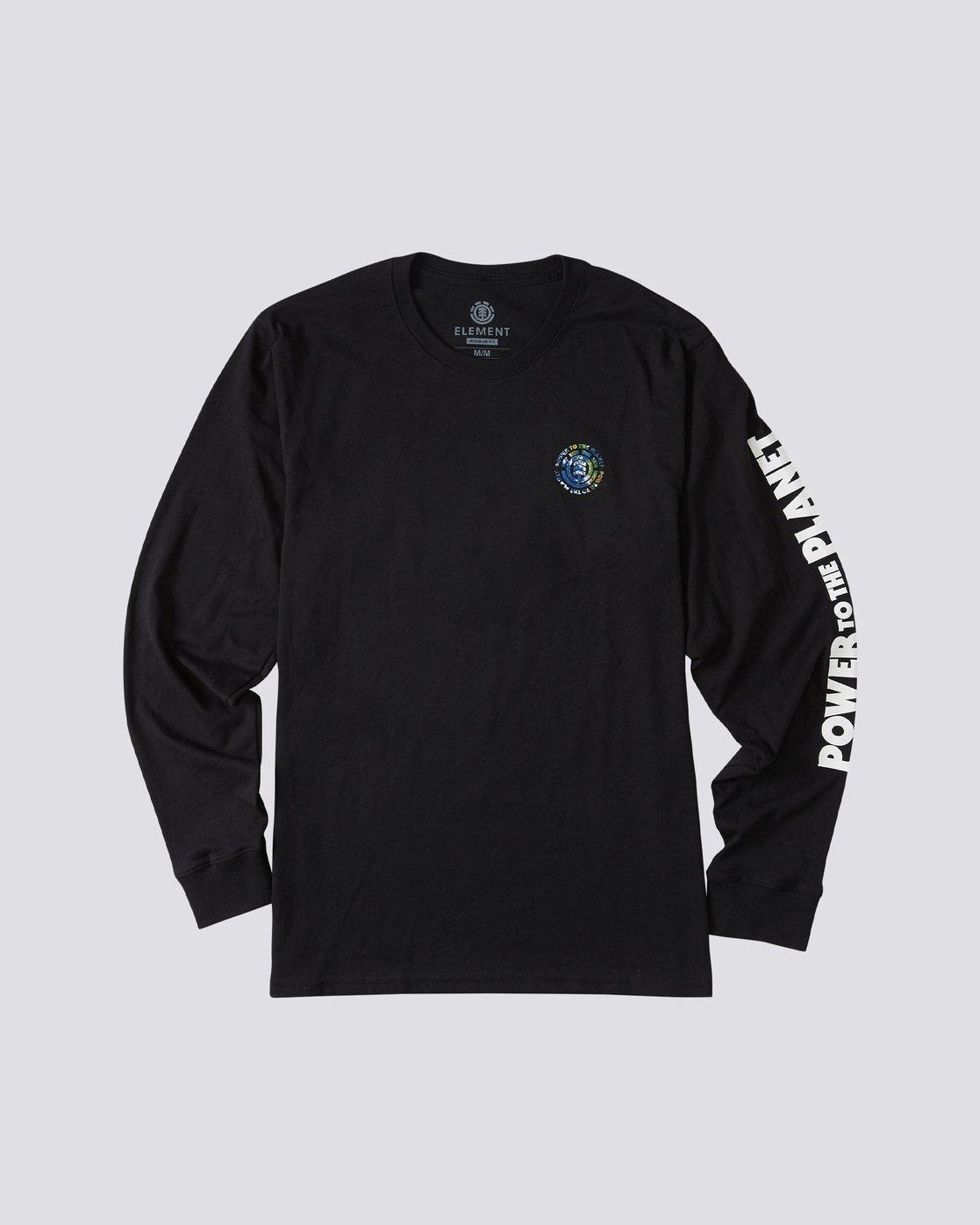 0 Mottilaa Planet Long Sleeve T-Shirt Blue ALYZT00186 Element