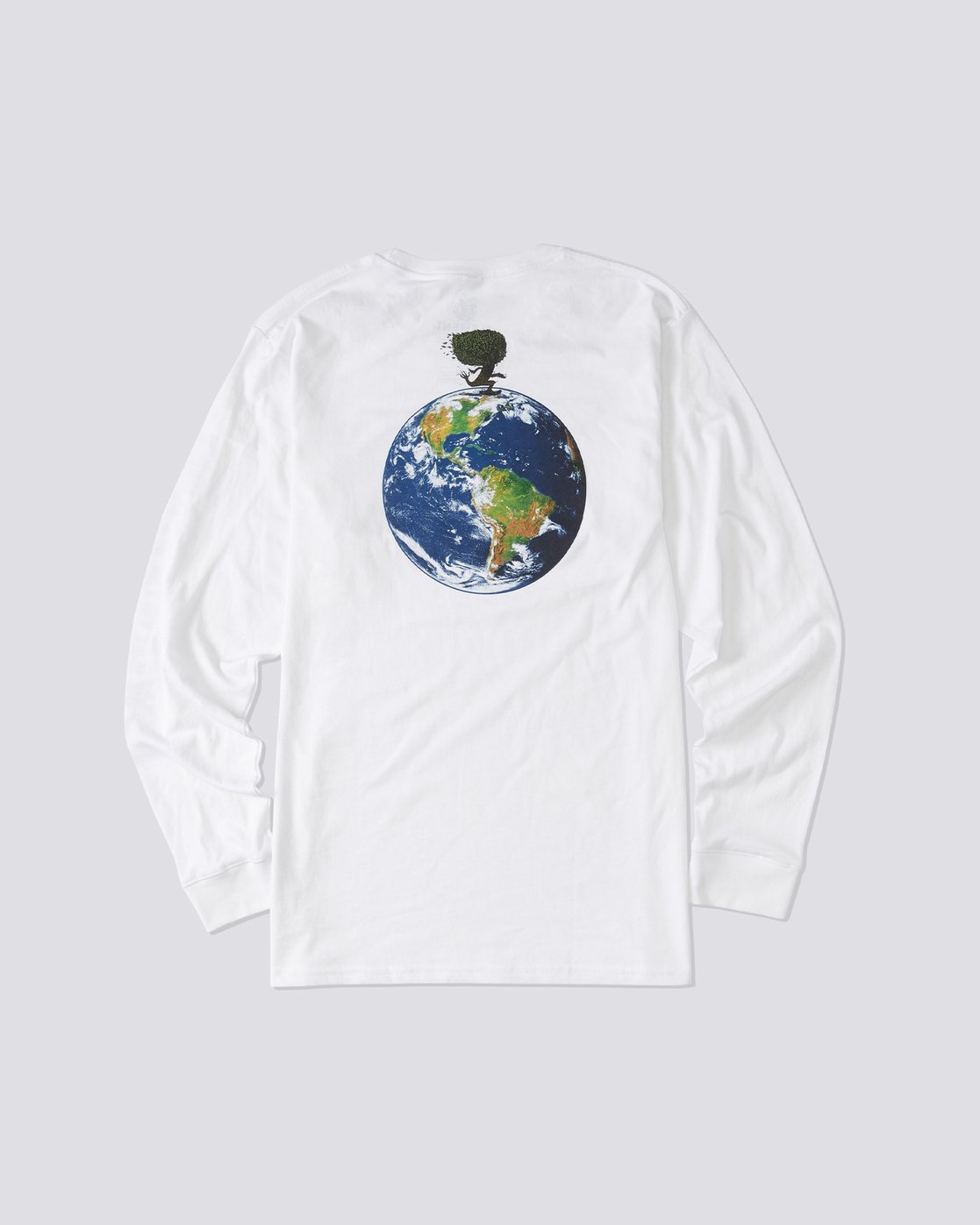 3 Mottilaa Planet Long Sleeve T-Shirt White ALYZT00186 Element