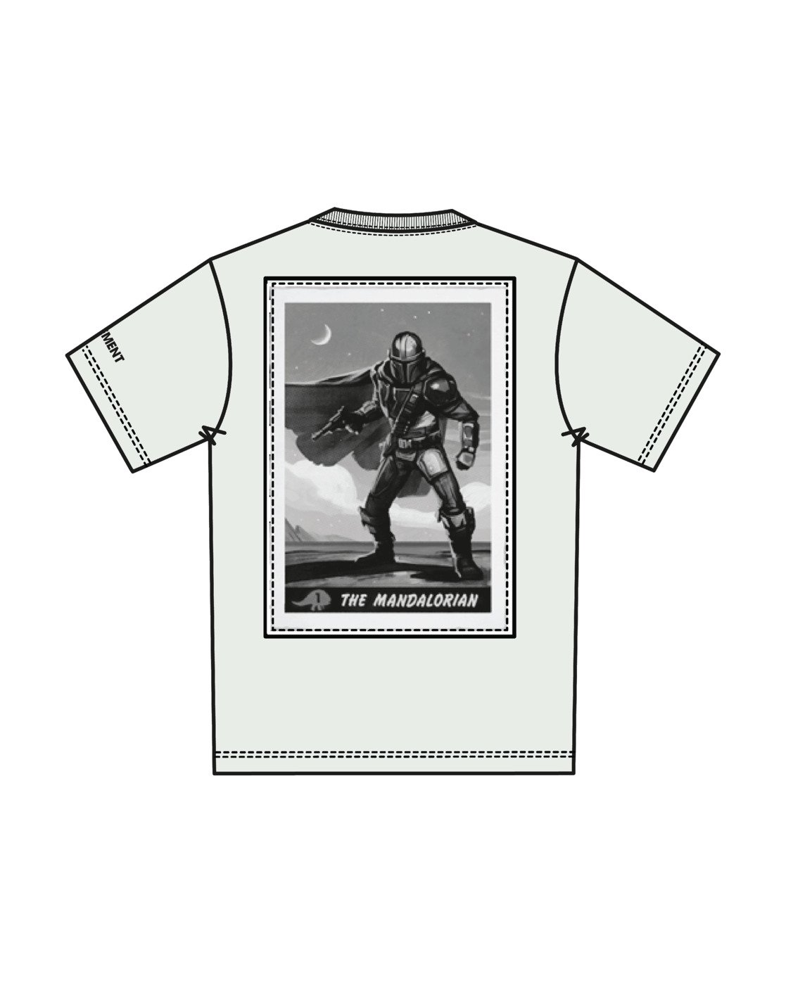 7 Star Wars™ x Element Warrior T-Shirt White ALYZT00256 Element