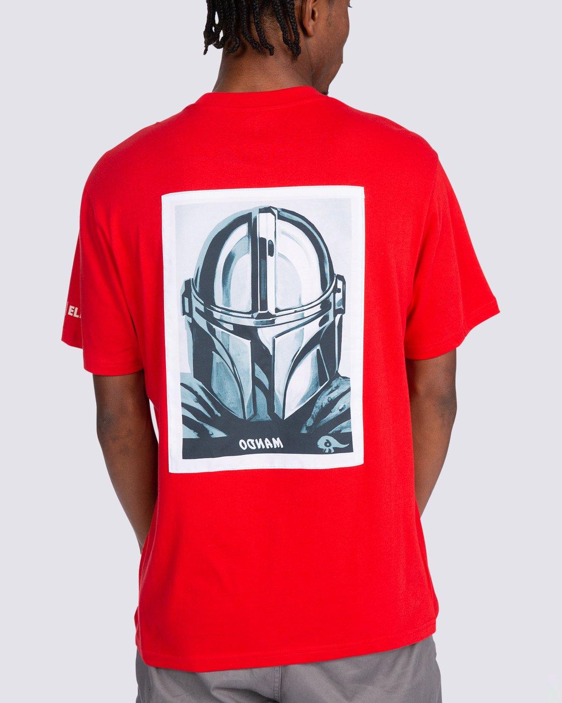 1 Star Wars™ x Element Mando T-Shirt Red ALYZT00258 Element