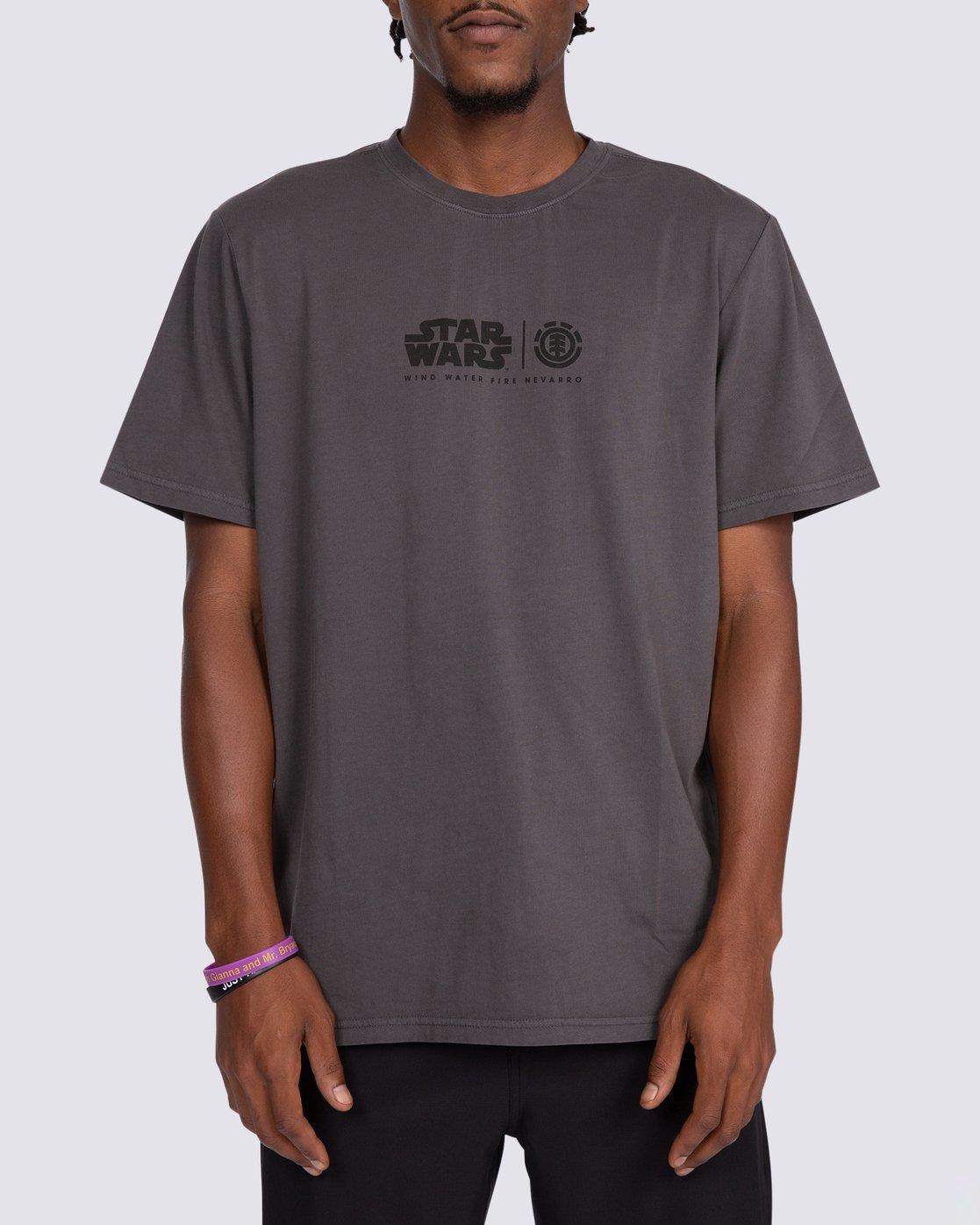 4 Star Wars™ x Element Wind T-Shirt Black ALYZT00260 Element