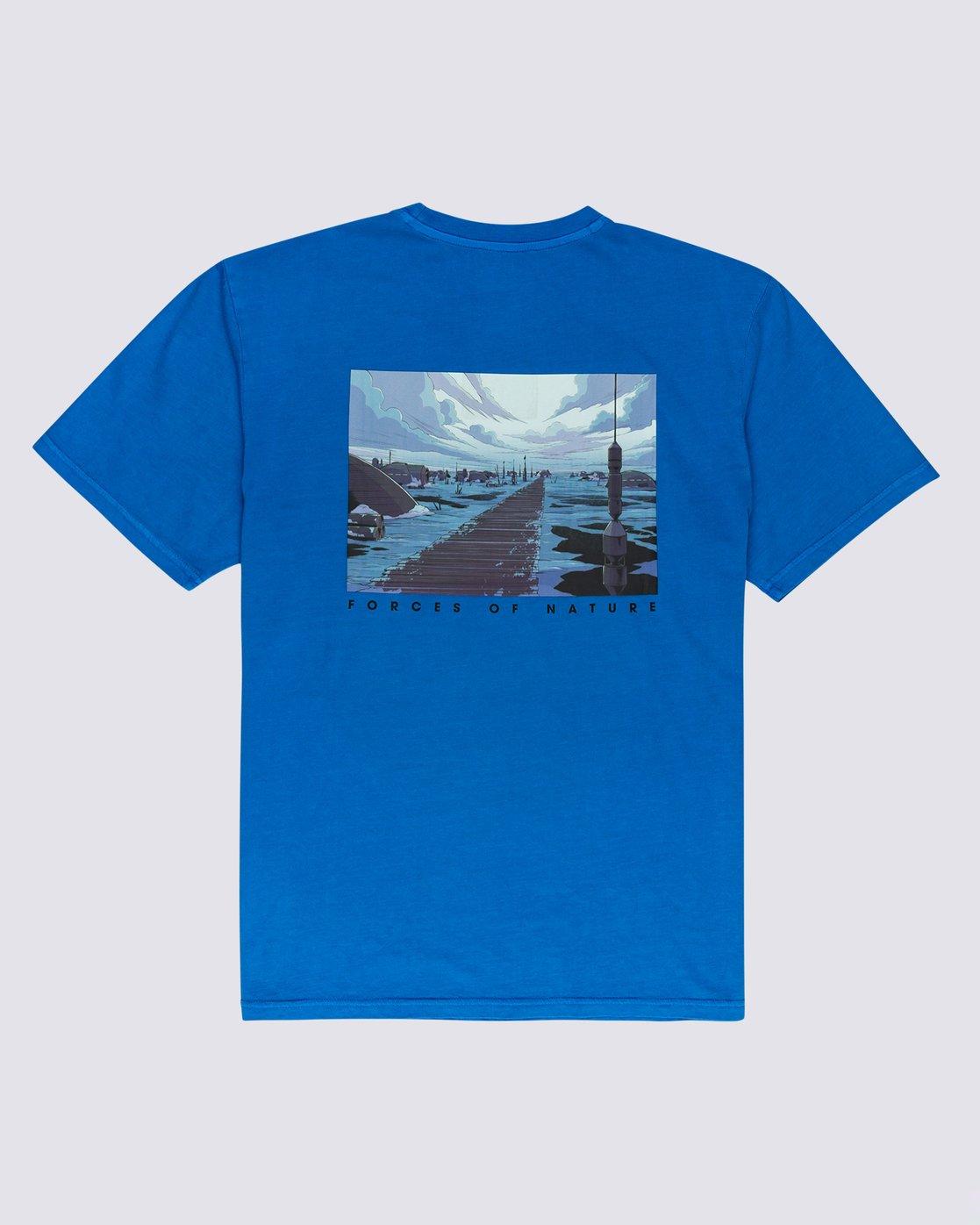 3 Star Wars™ x Element Water T-Shirt Blue ALYZT00261 Element