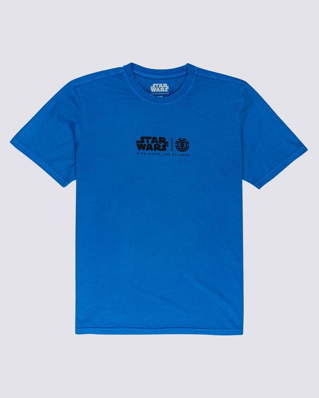 2 Star Wars™ x Element Water T-Shirt Blue ALYZT00261 Element