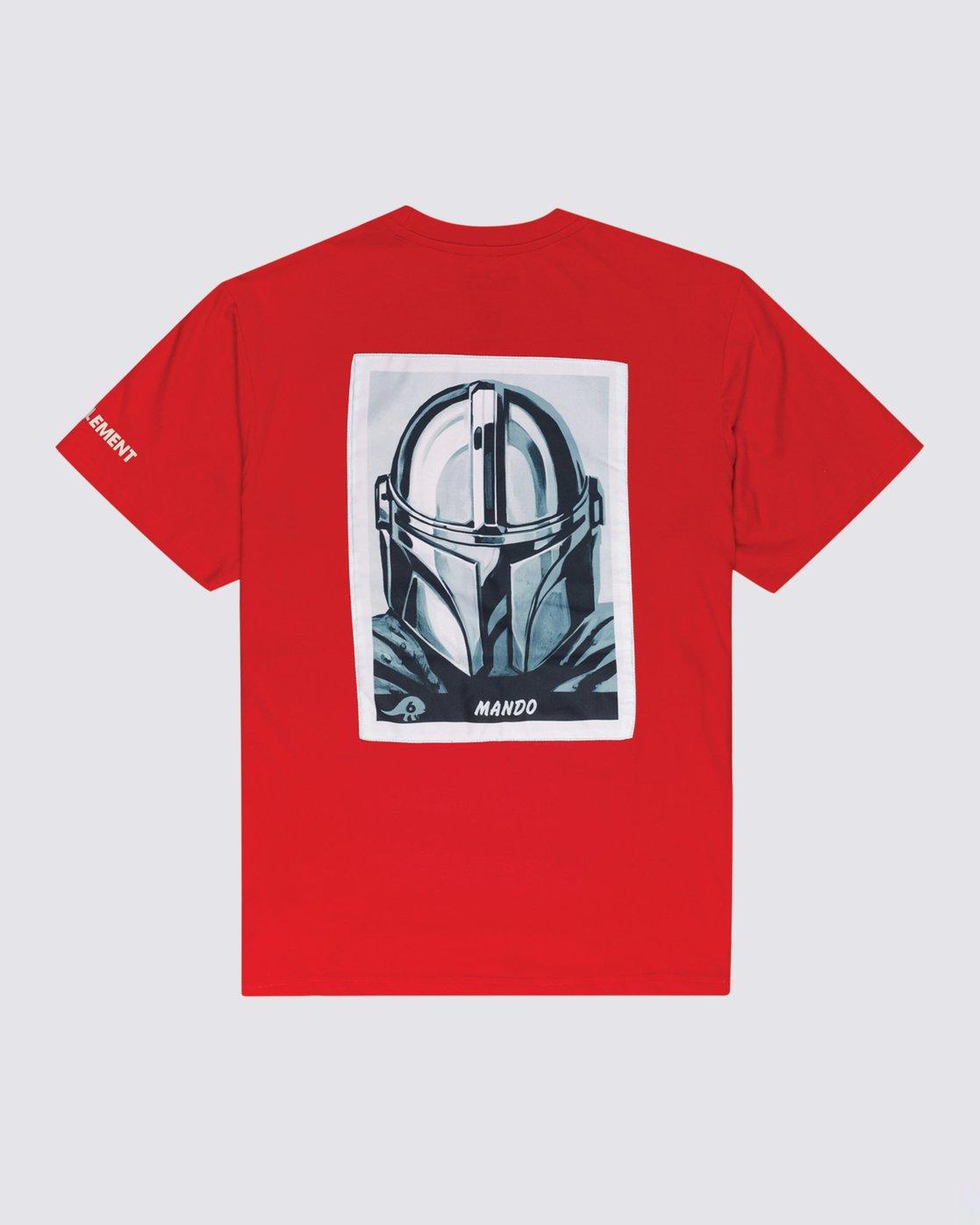 0 Star Wars™ x Element Mando T-Shirt Red ALYZT00328 Element