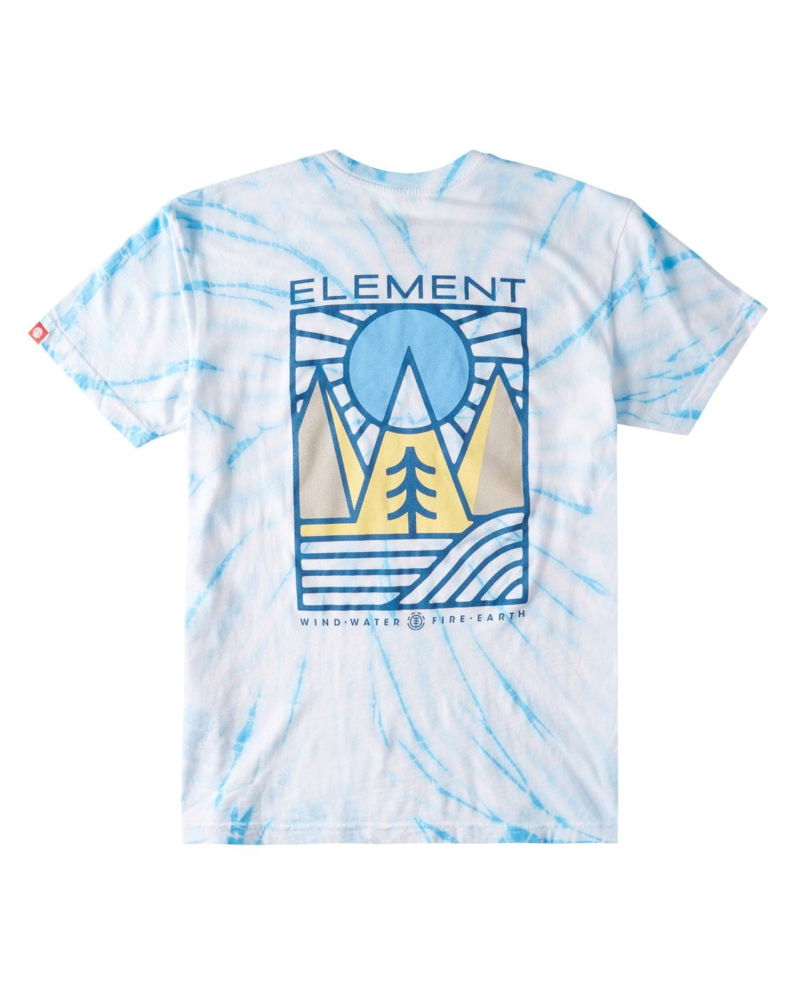 1 Logel Tie-Dye T-Shirt Blue ALYZT00352 Element