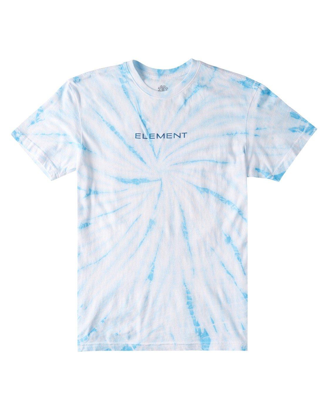 0 Logel Tie-Dye T-Shirt Blue ALYZT00352 Element