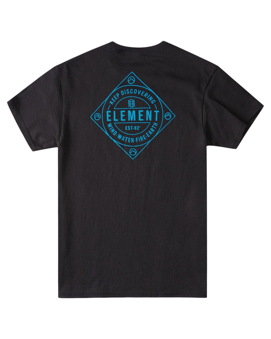 3 Corner T-Shirt Blue ALYZT00356 Element