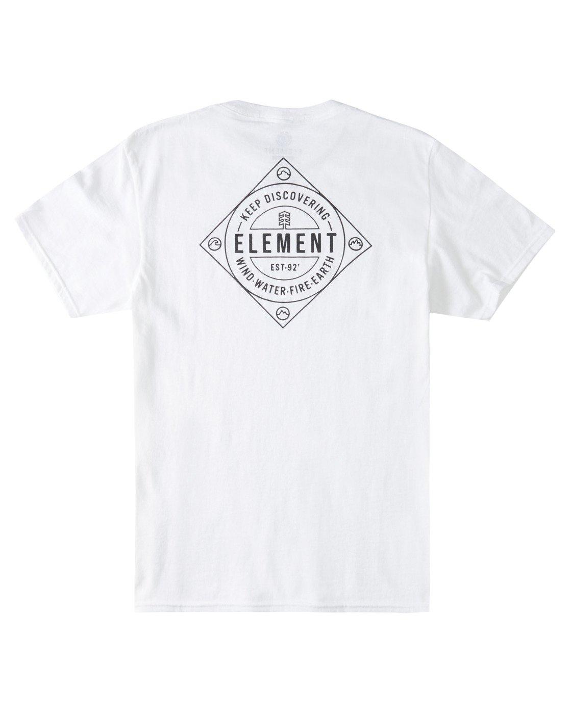 3 Corner T-Shirt White ALYZT00356 Element
