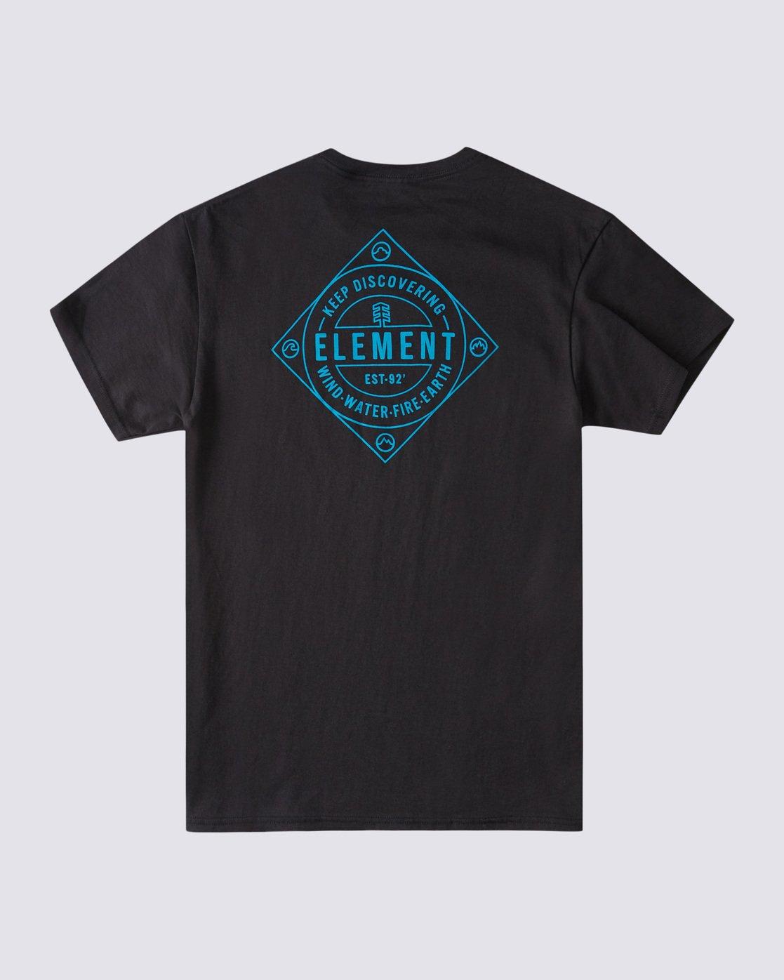 1 Corner T-Shirt Blue ALYZT00356 Element