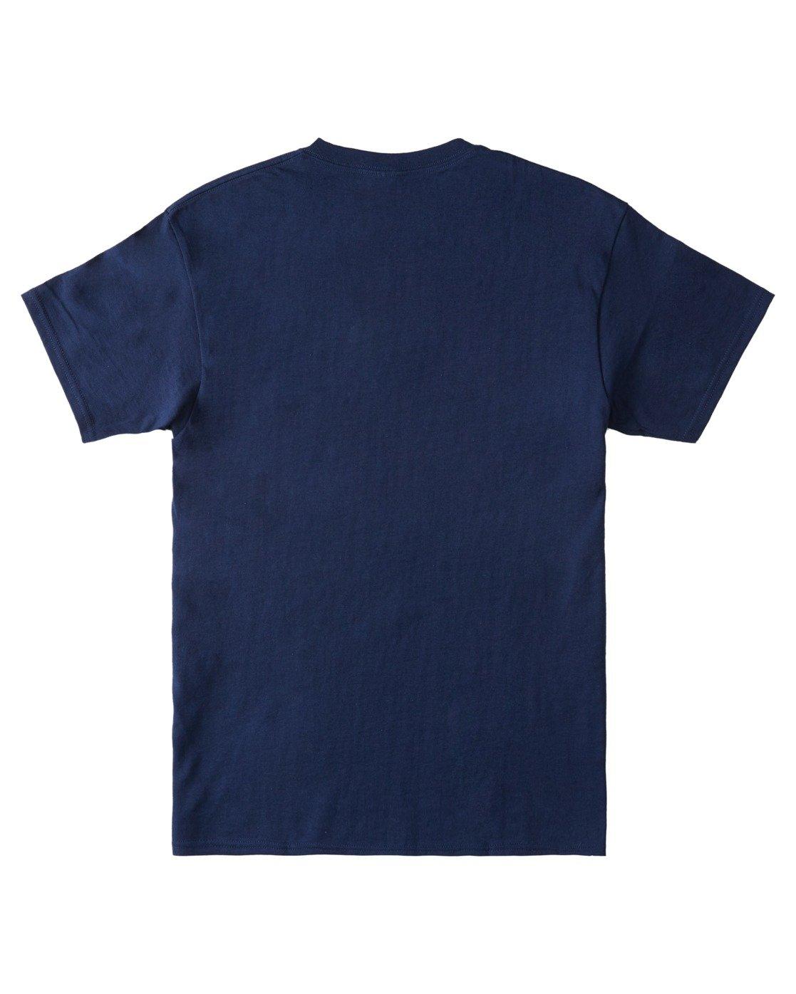 3 Whysler T-Shirt Blue ALYZT00359 Element