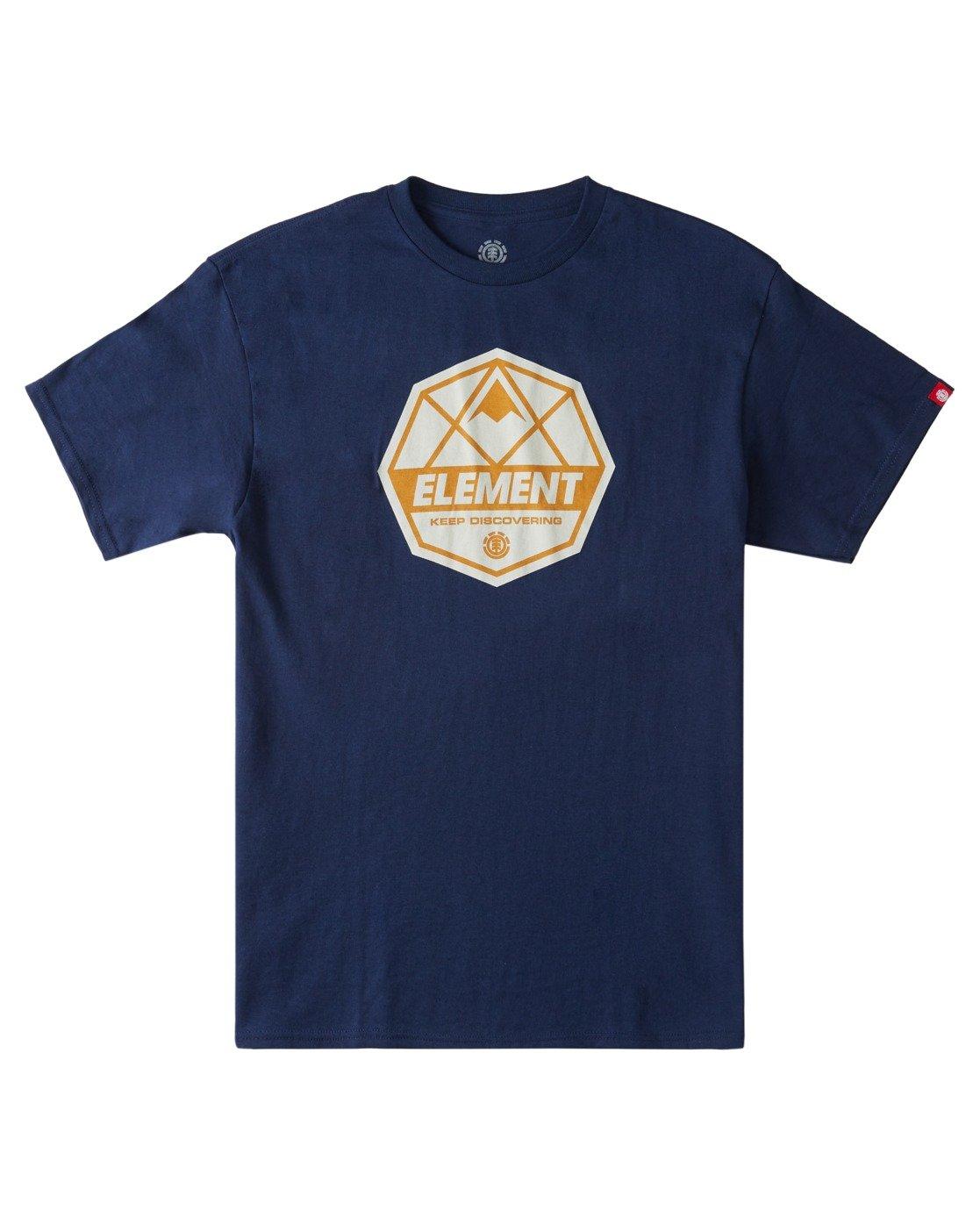 2 Whysler T-Shirt Blue ALYZT00359 Element