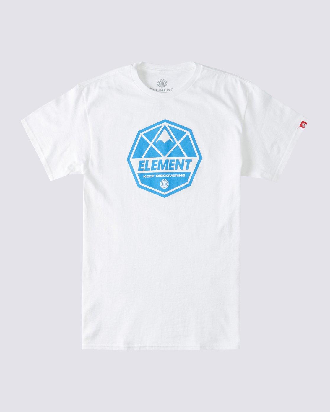 0 Whysler T-Shirt White ALYZT00359 Element