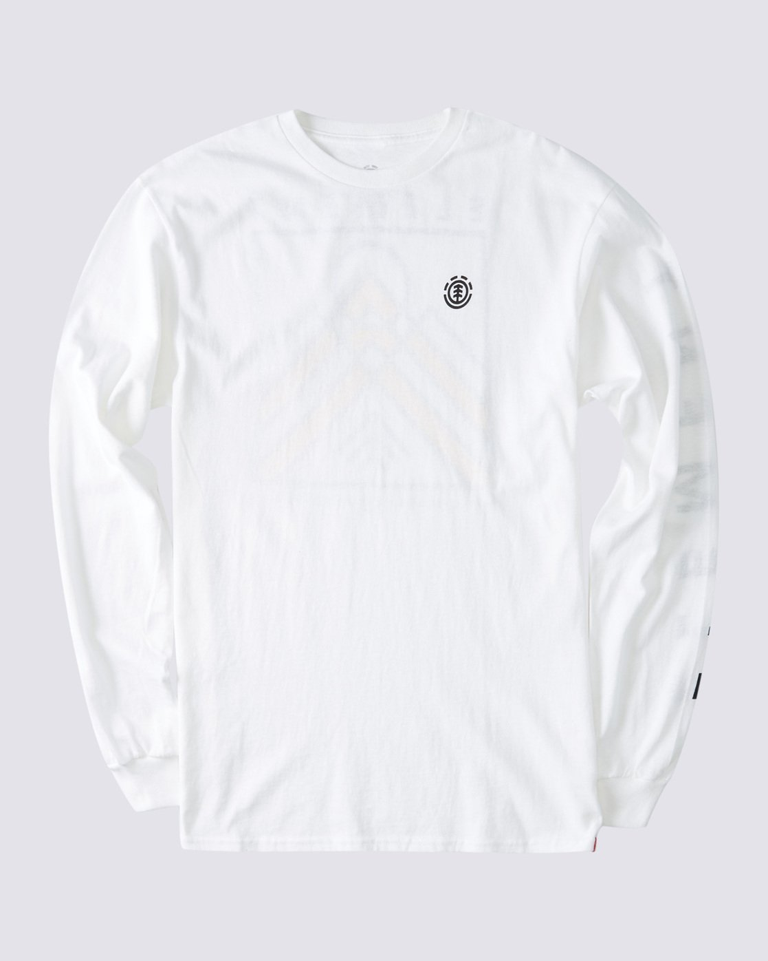 0 Dronis Long Sleeve T-Shirt White ALYZT00364 Element