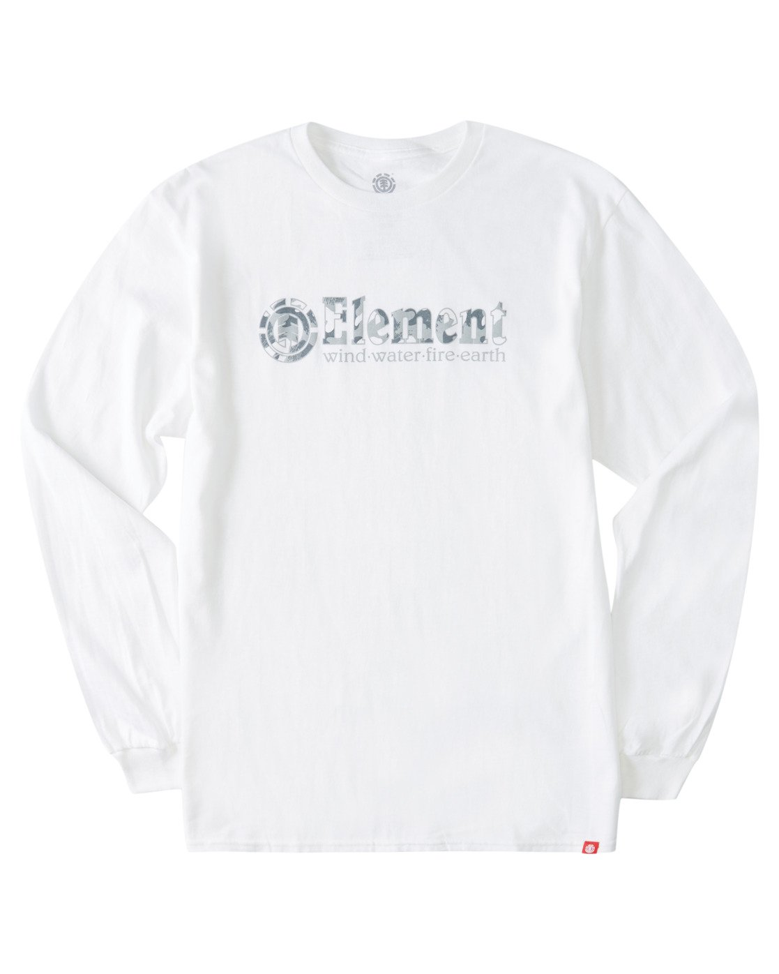 2 Scope Out Long Sleeve T-Shirt White ALYZT00366 Element