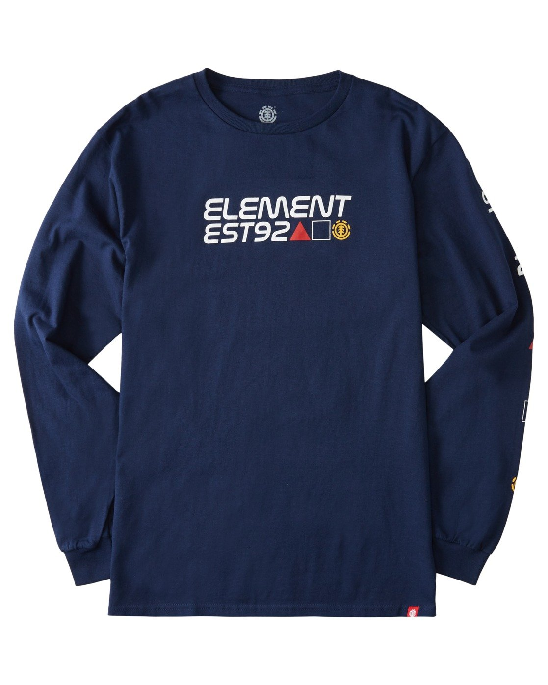 2 Hiro Long Sleeve T-Shirt Blue ALYZT00367 Element