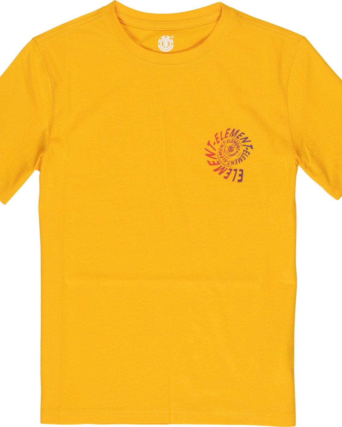 2 Boys' Frisco T-Shirt Yellow B4011EFR Element