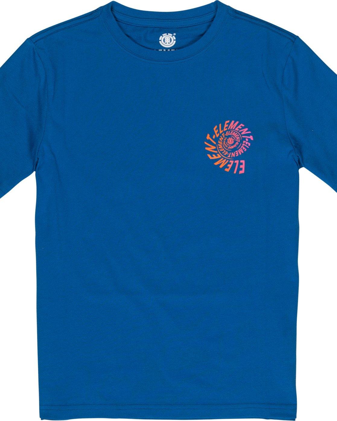 2 Boys' Frisco T-Shirt Blue B4011EFR Element