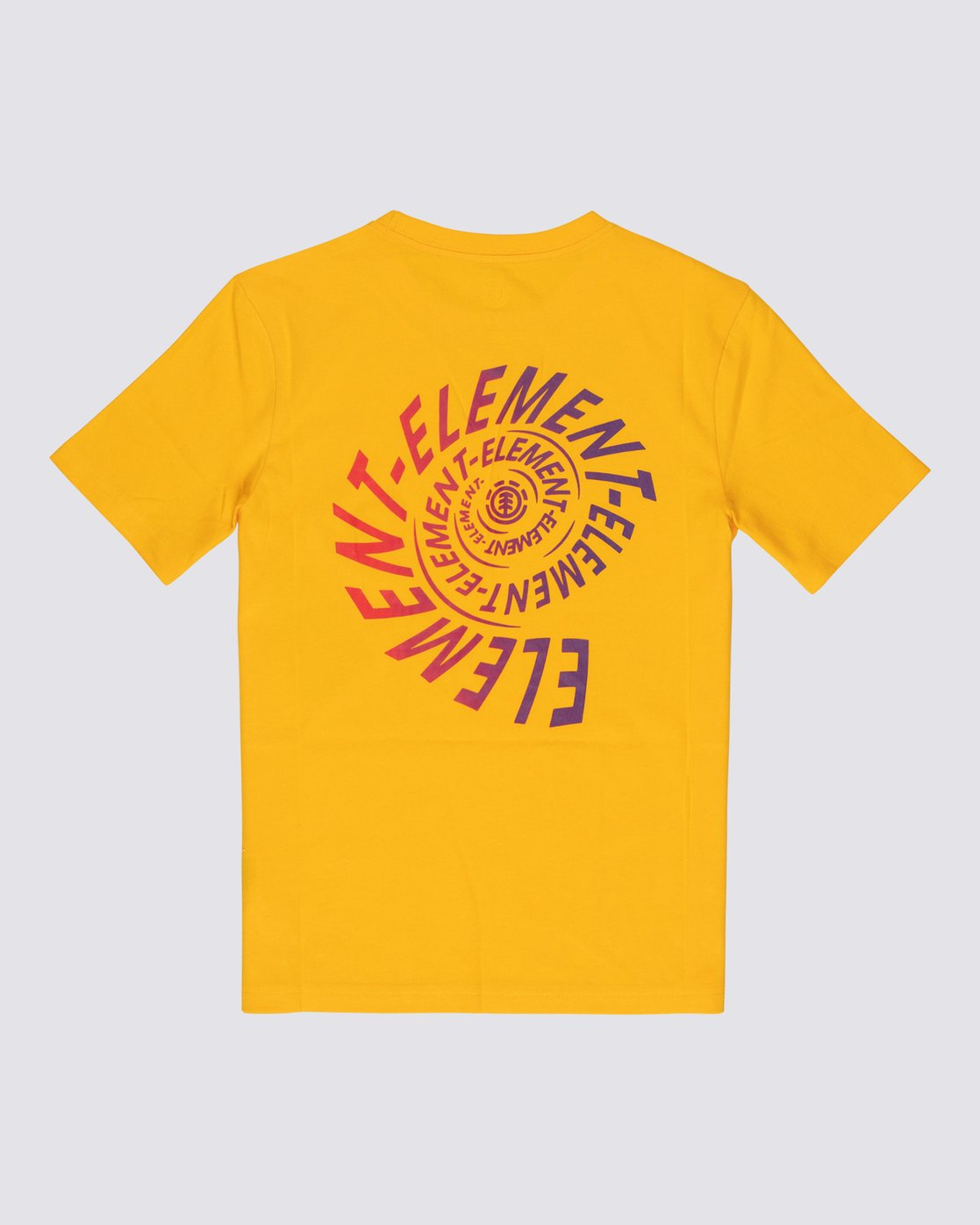 1 Boys' Frisco T-Shirt Yellow B4011EFR Element