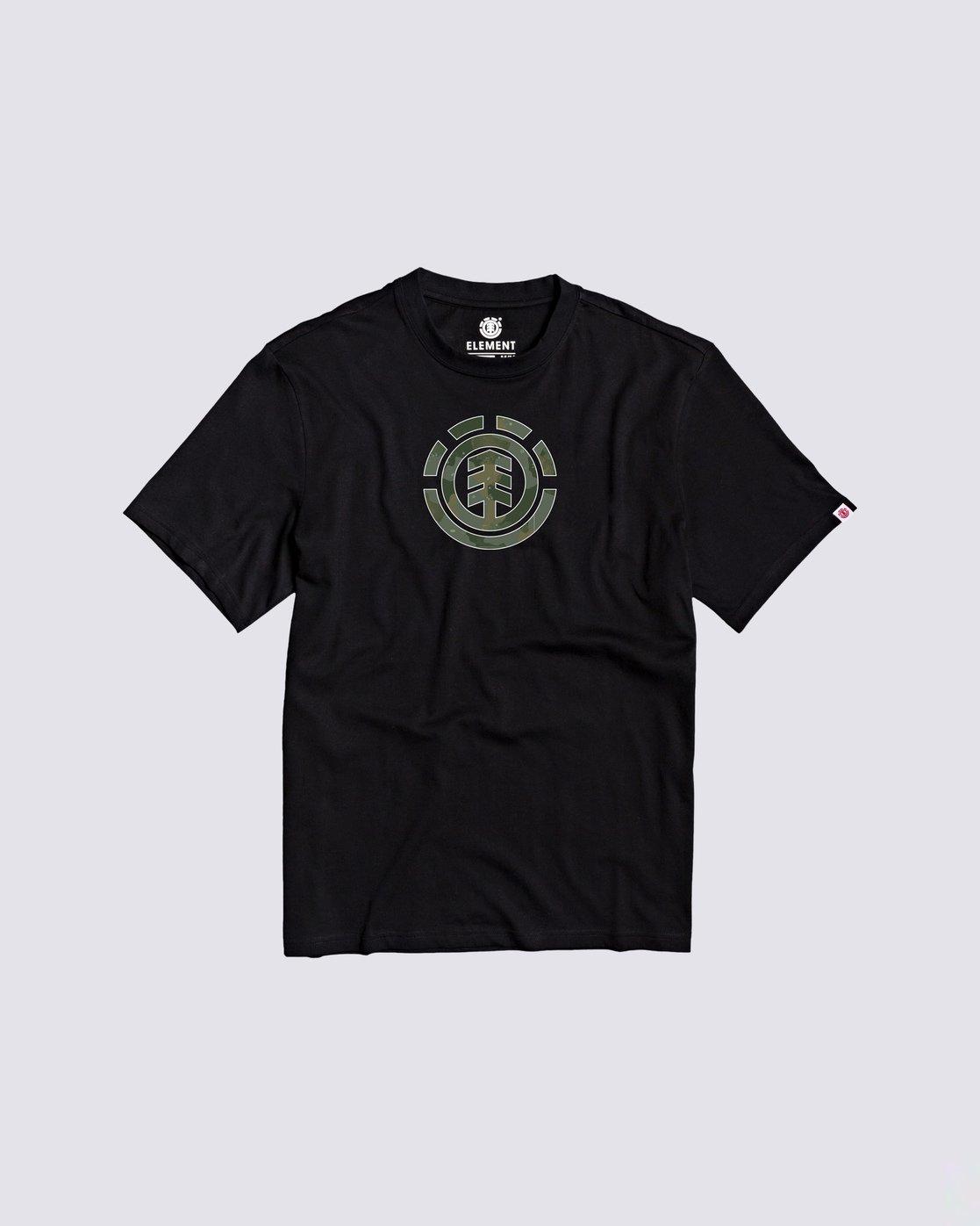 0 Boys' Water Camo T-Shirt Blue B4013EWA Element