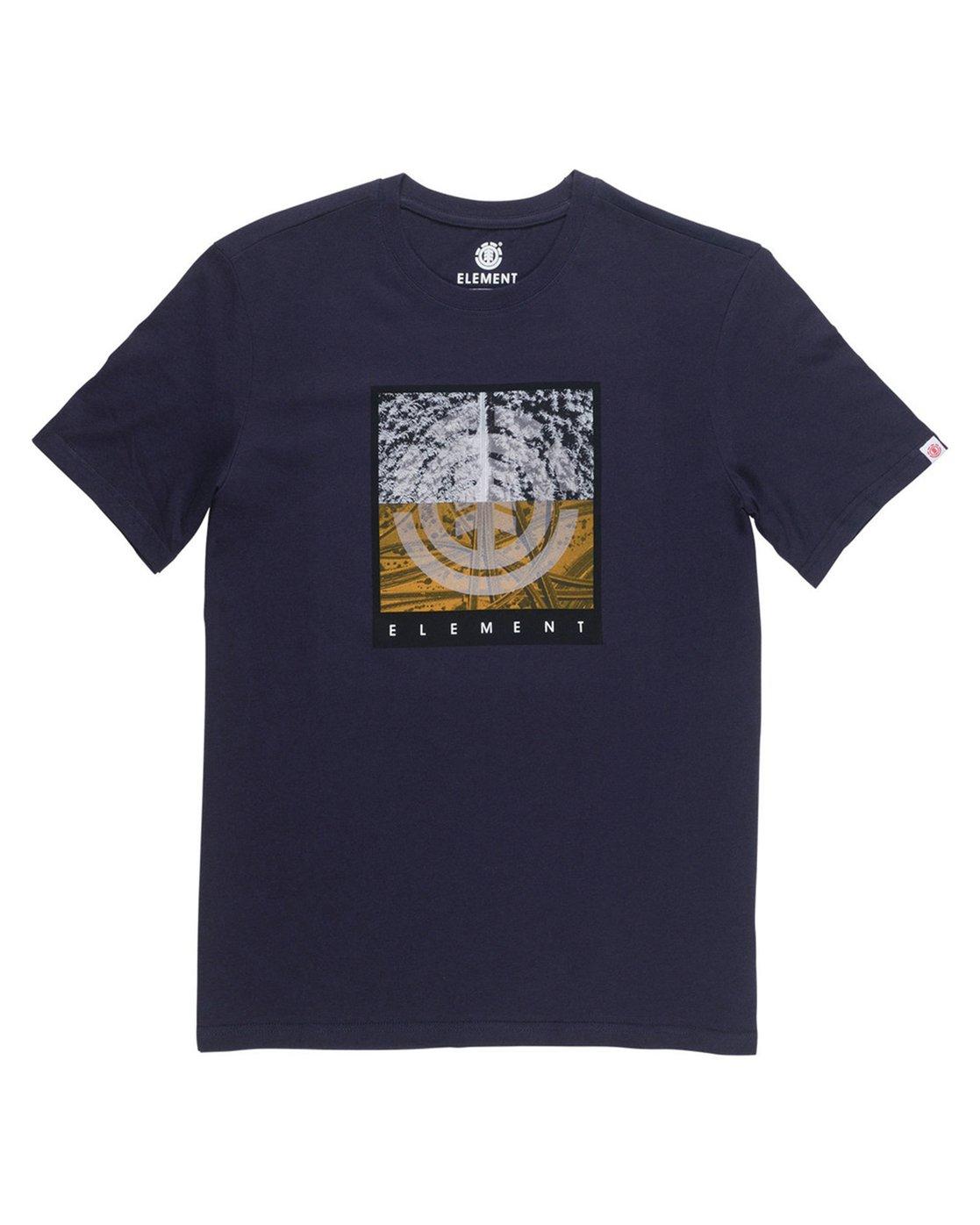 1 Reroute Boys Tee Blue B401QERE Element