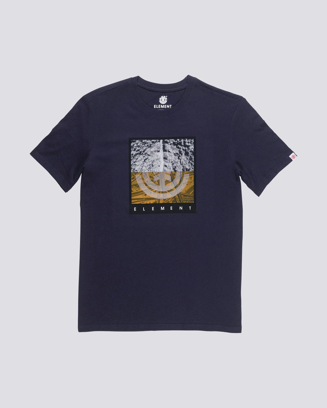 0 Reroute Boys Tee Blue B401QERE Element