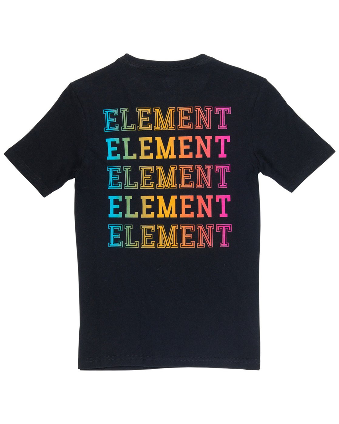 1 Boy's Drop Tee Black B401VEDR Element