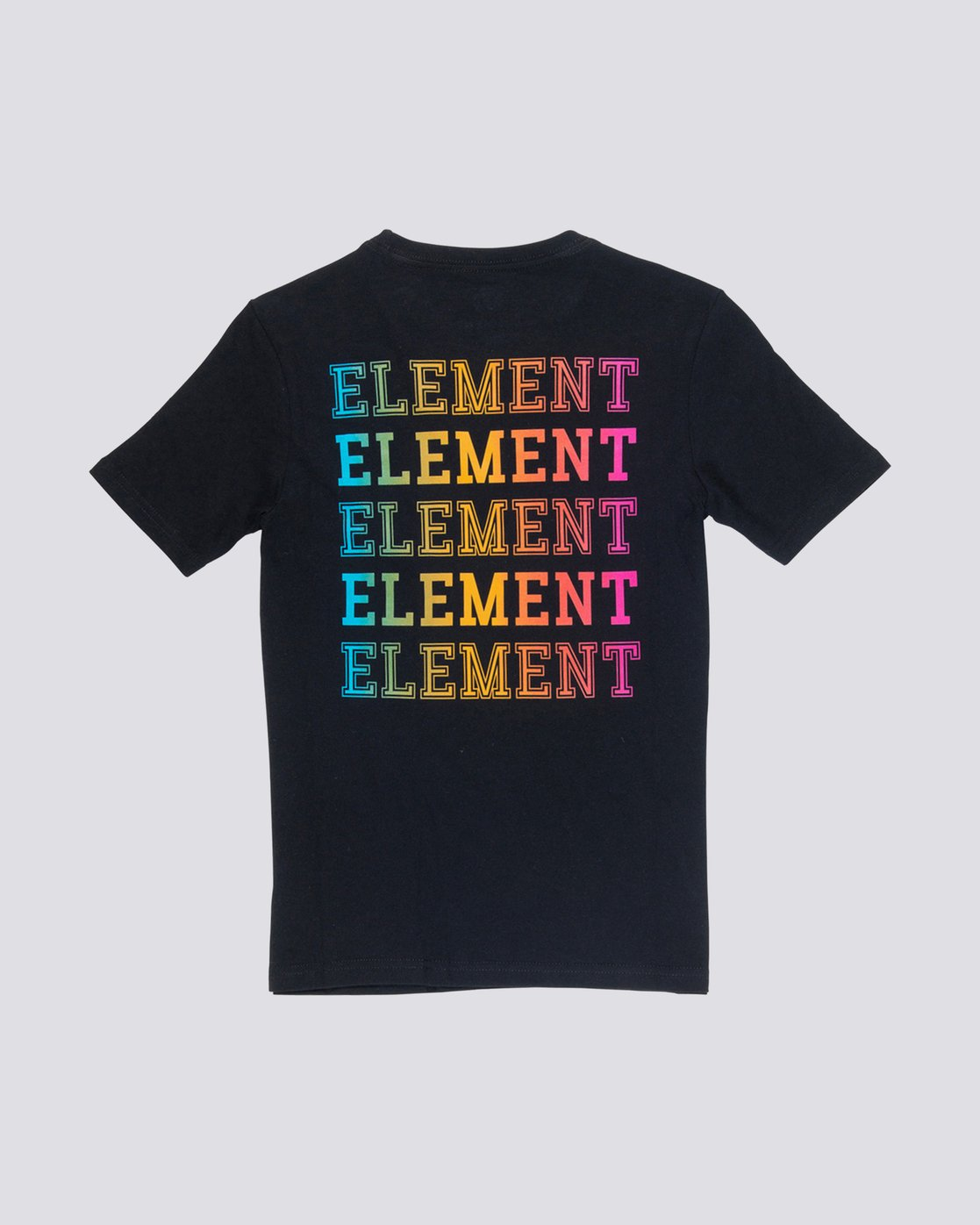 0 Boy's Drop Tee Black B401VEDR Element
