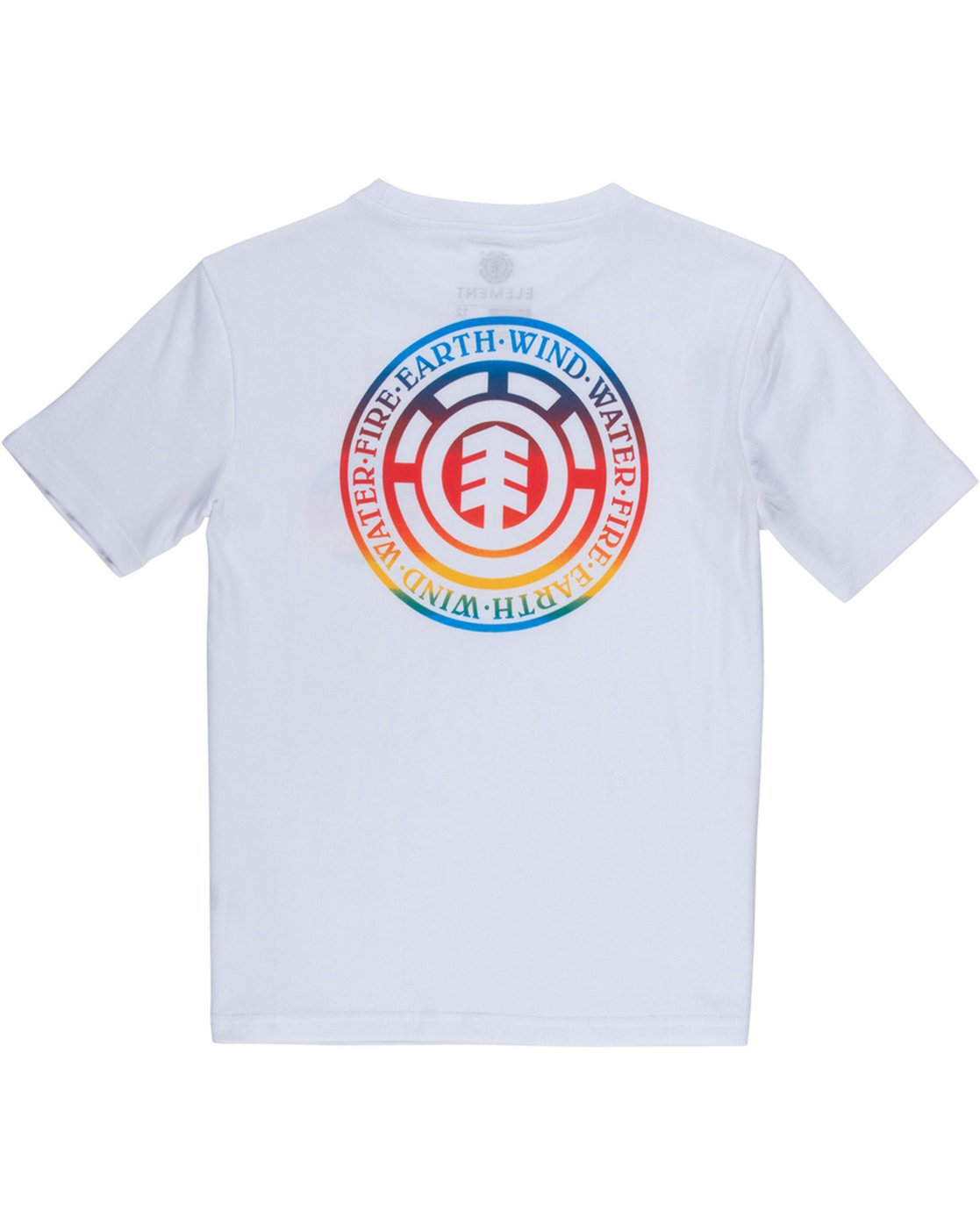 3 Seal Gradient Boys Tee White B401VESE Element