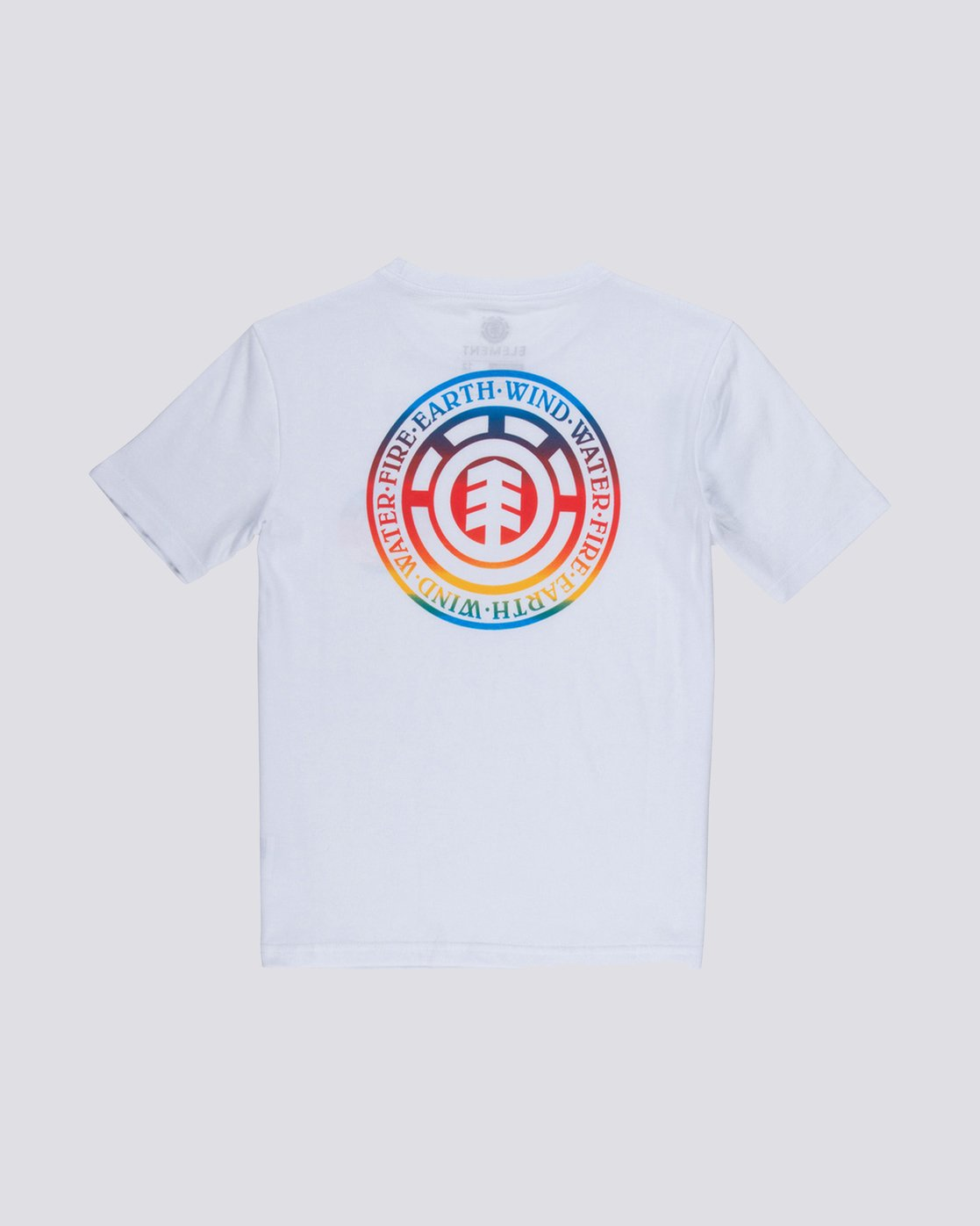 1 Seal Gradient Boys Tee White B401VESE Element