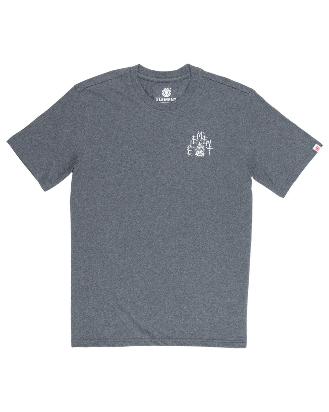 2 Woodland Boys T-Shirt Grey B401VEWO Element
