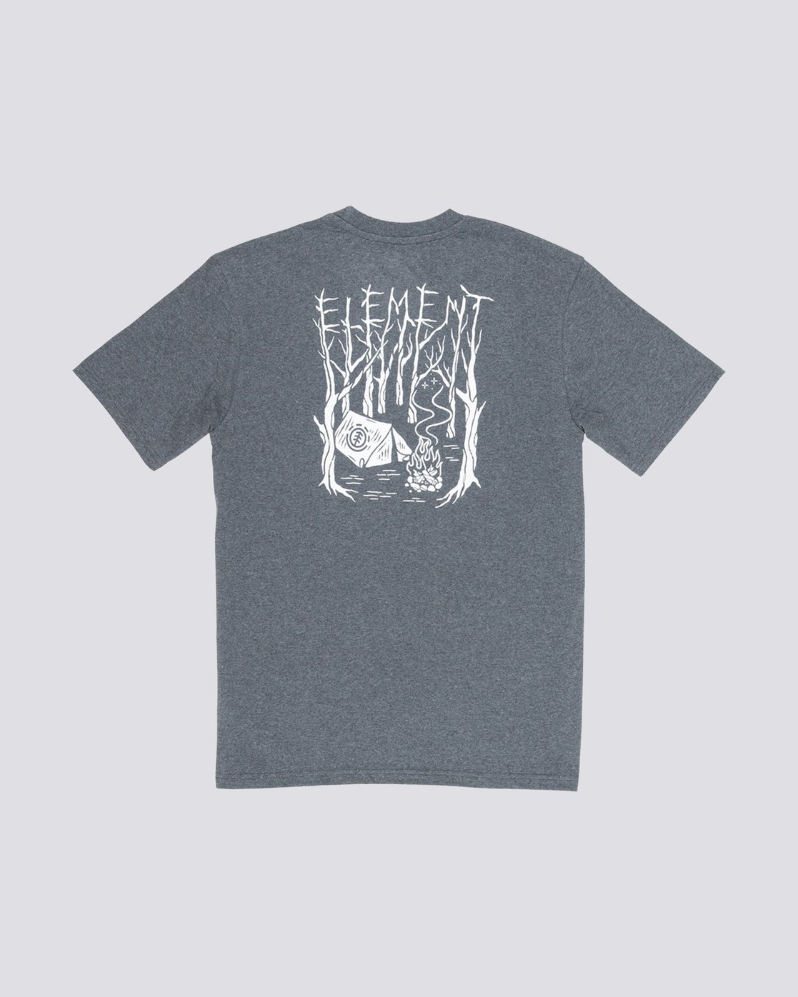 1 Woodland Boys Tee Grey B401VEWO Element