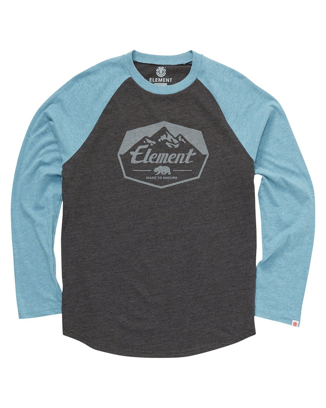 1 JOURNEY BOYS RAGLAN Grey B470QEJR Element