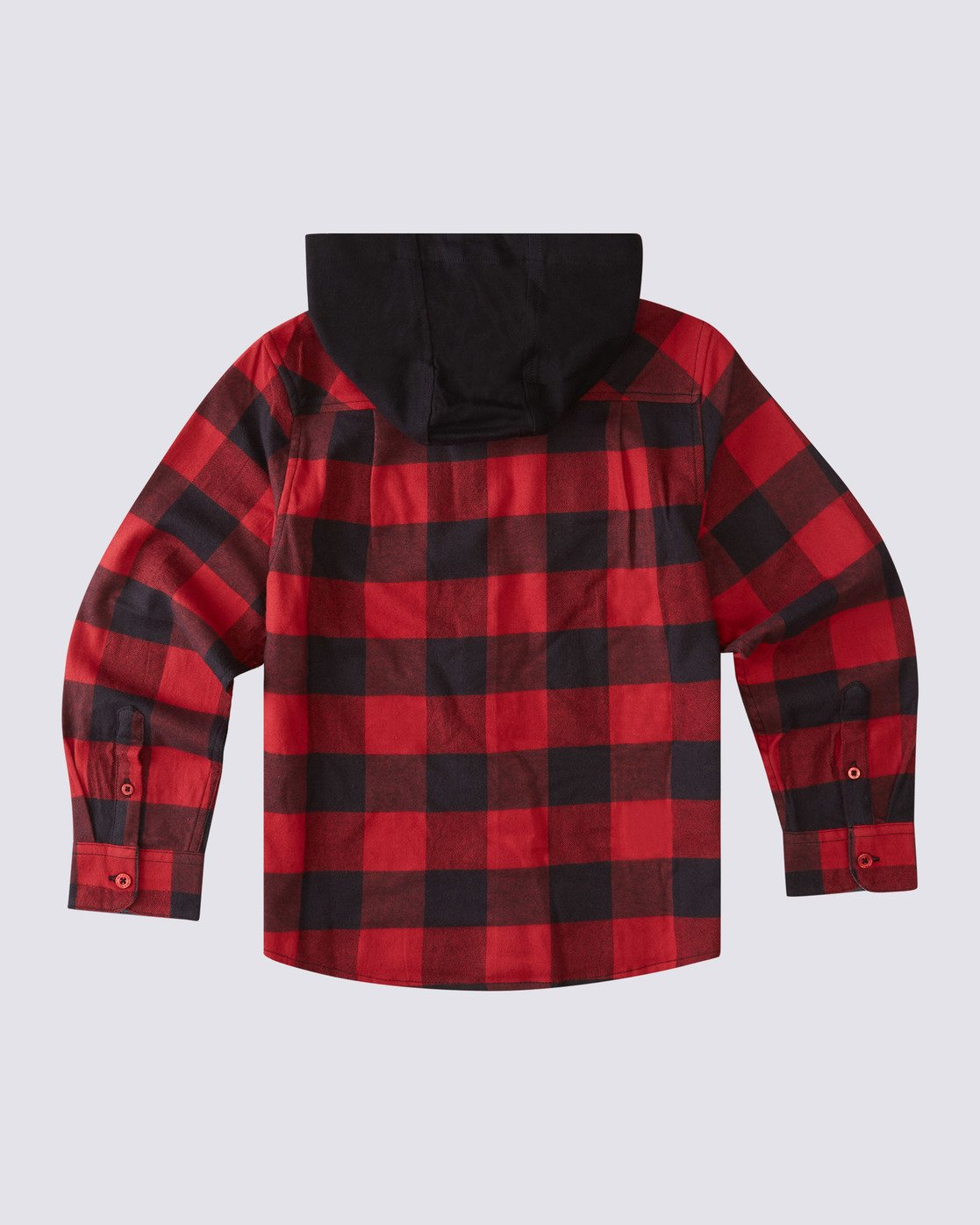 1 Boys' Tacoma 2C Hooded Flannel Red B5553ETH Element