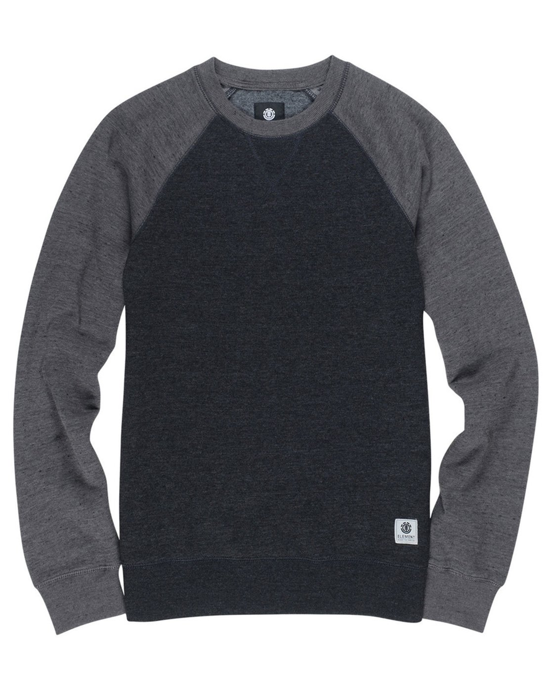 1 Boy's Meridian Block Crew Neck Fleece Black B632QEMC Element