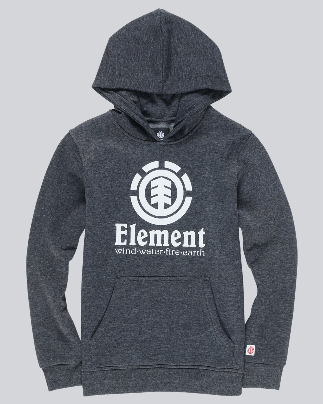 0 Vertical Boys Hoodie Grey B644TEVH Element