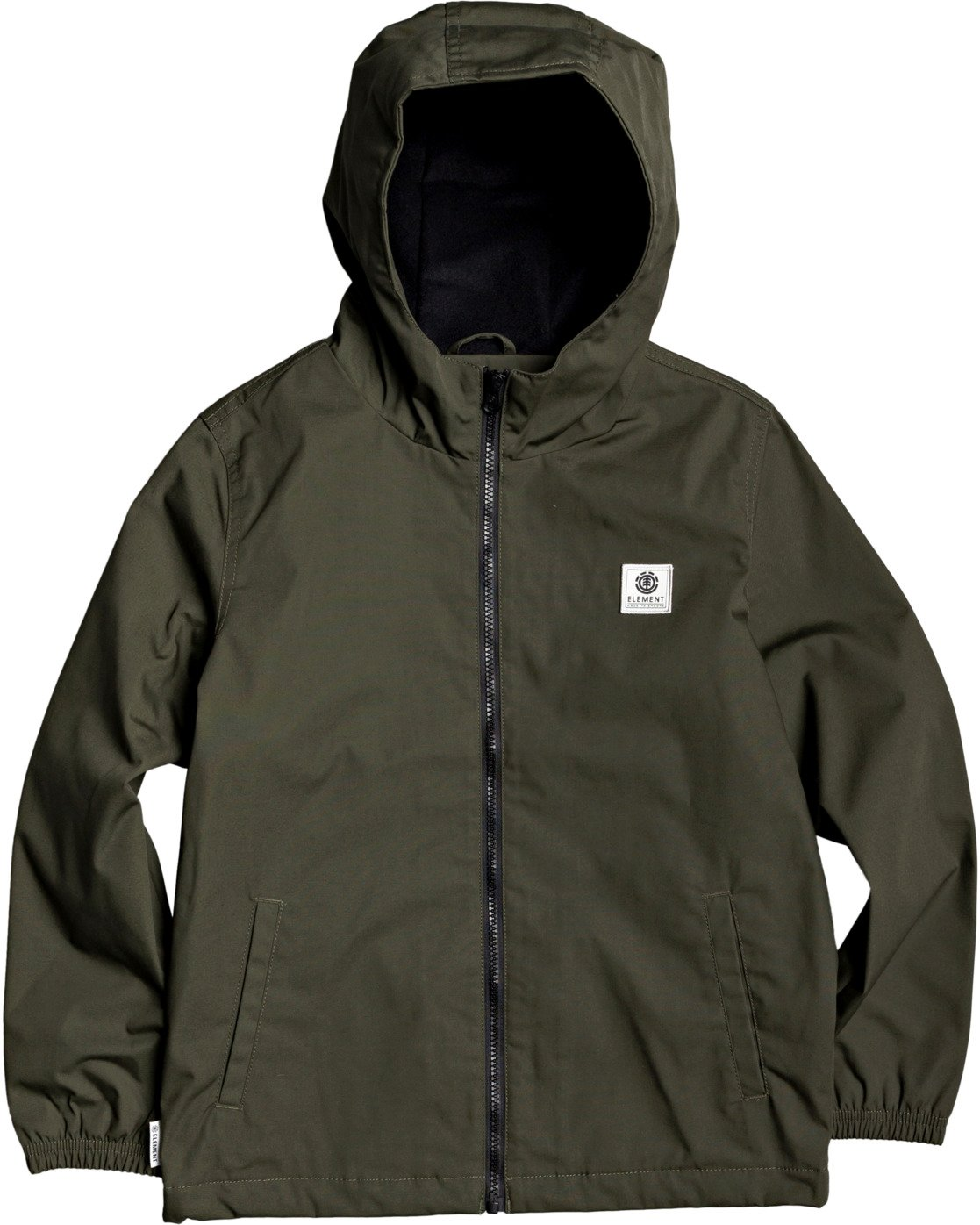 1 Boys' Alder Jacket Green B7163EAL Element
