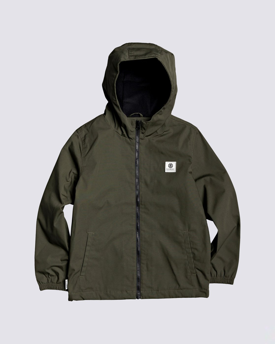 0 Boys' Alder Jacket Green B7163EAL Element