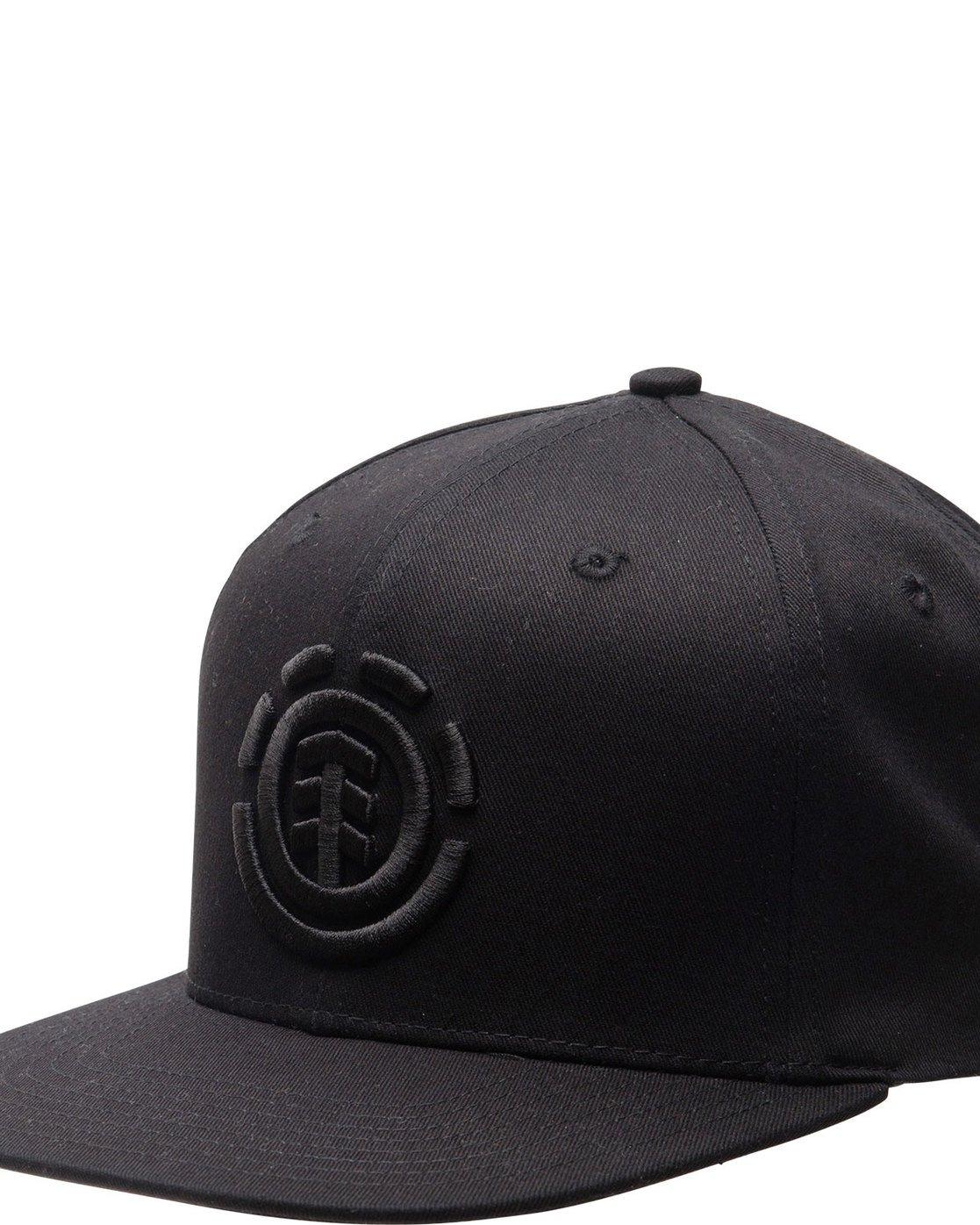 1 KNUTSEN BOY CAP Black BAHTQEKB Element