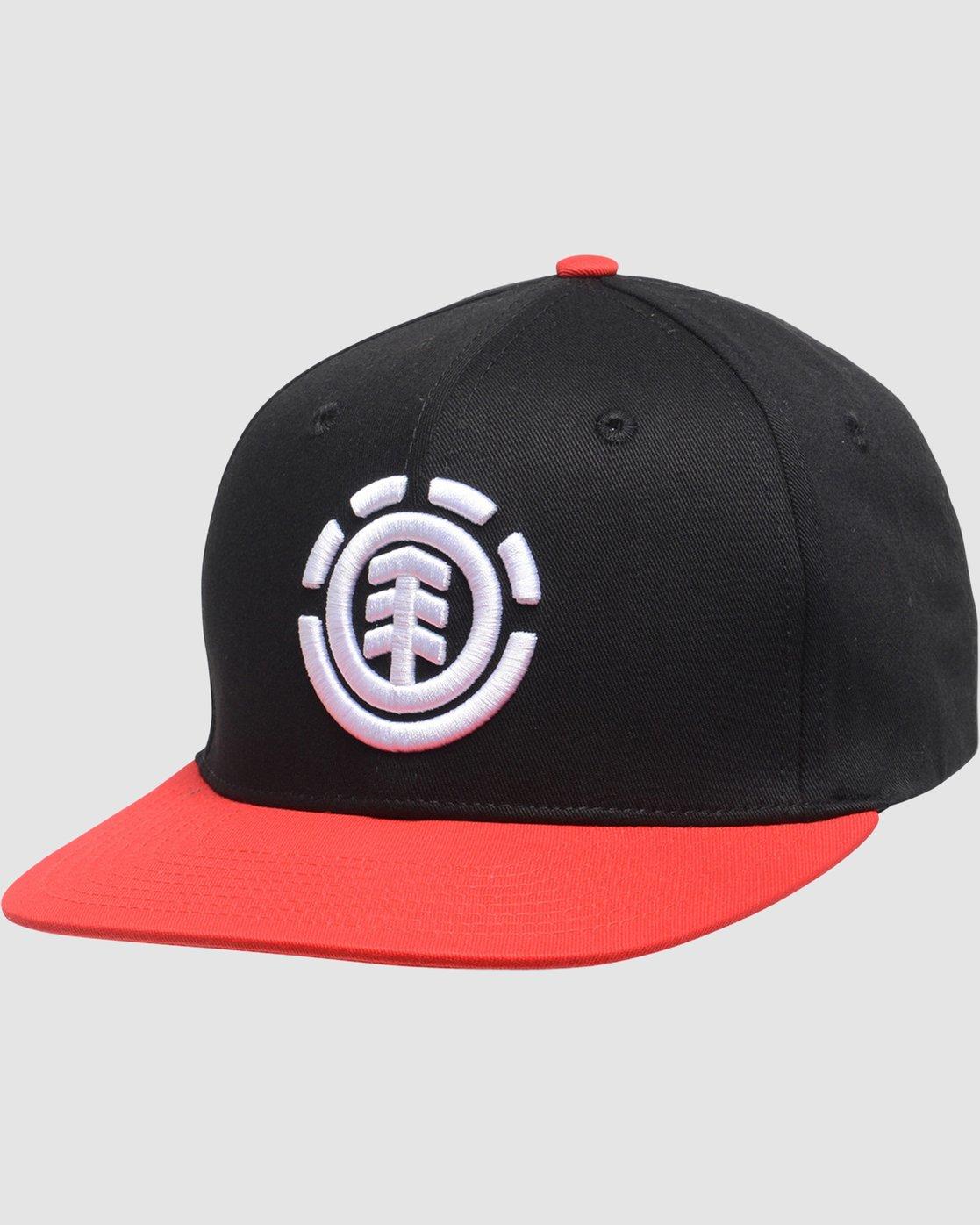 1 Boy's Knutsen Hat Red BAHTQEKB Element